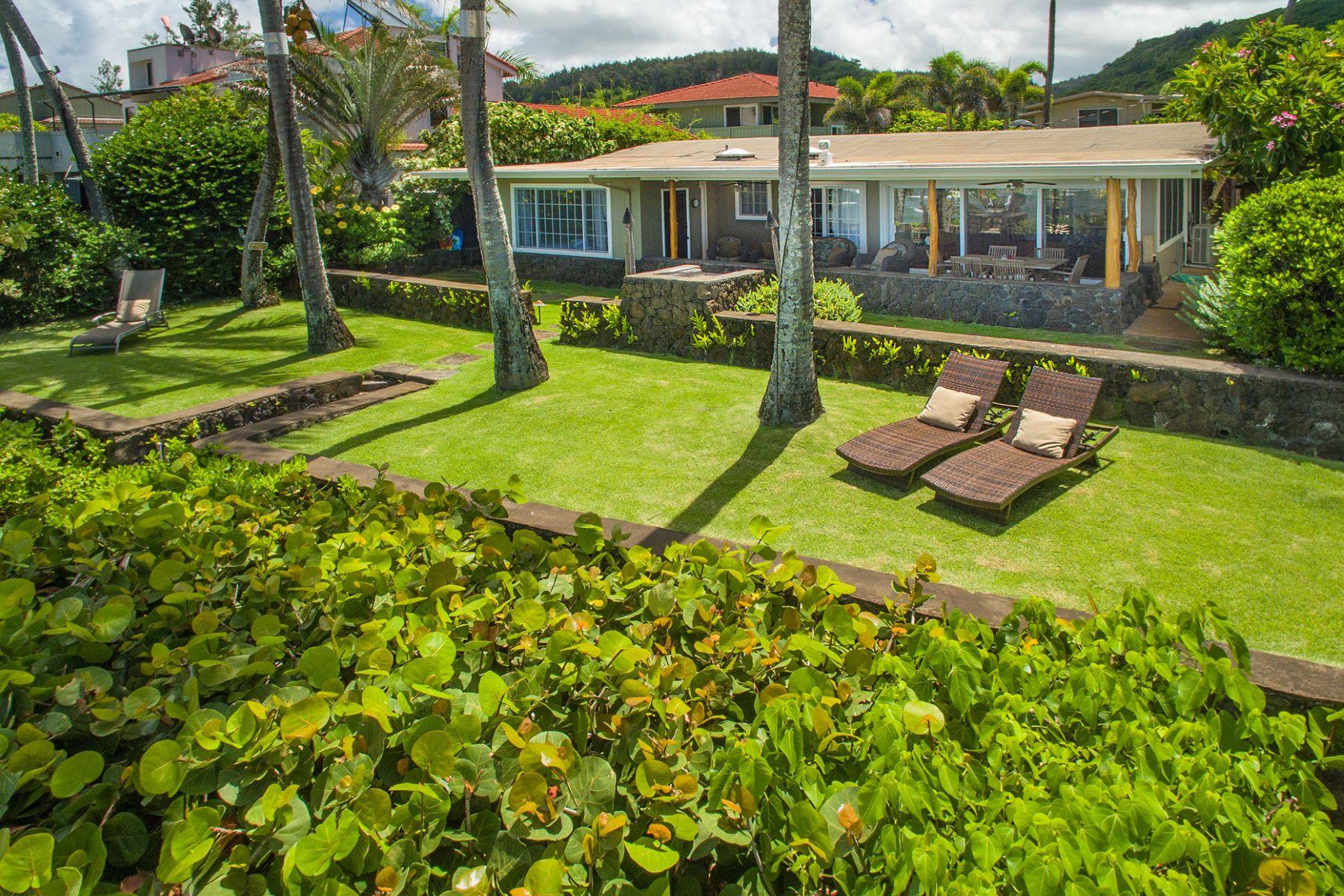 Casa para uma família para Venda às Perfect North Shore Retreat 59-004 Holawa Place Haleiwa, Havaí 96712 Estados Unidos