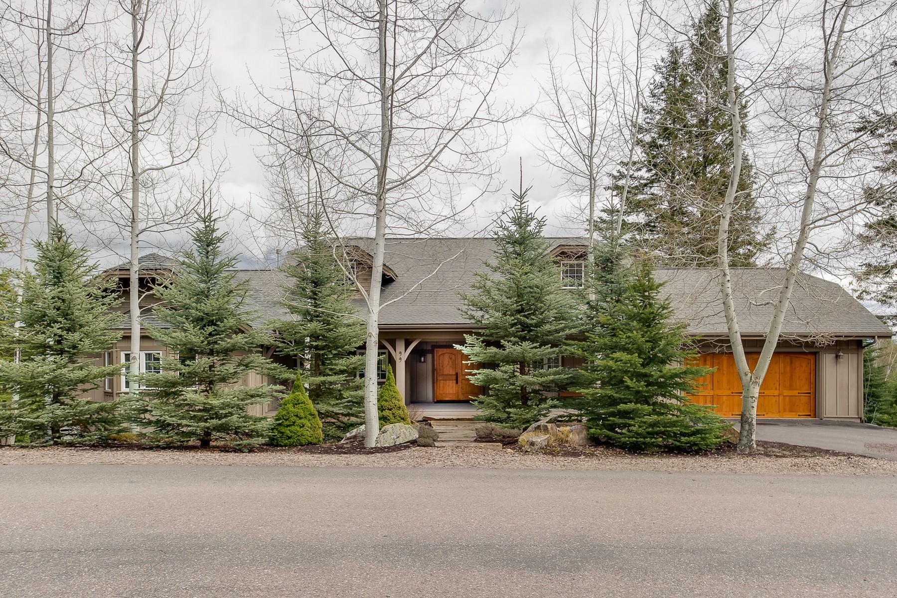Single Family Homes per Vendita alle ore Whitefish, Montana 59937 Stati Uniti