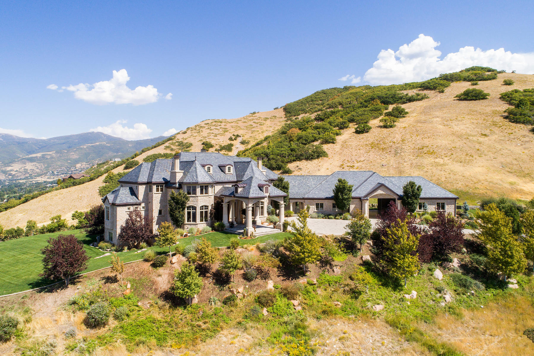 Single Family Homes for Active at Magnificent Hilltop Chateau 4101 S Hidden Ridge Cir Bountiful, Utah 84010 United States