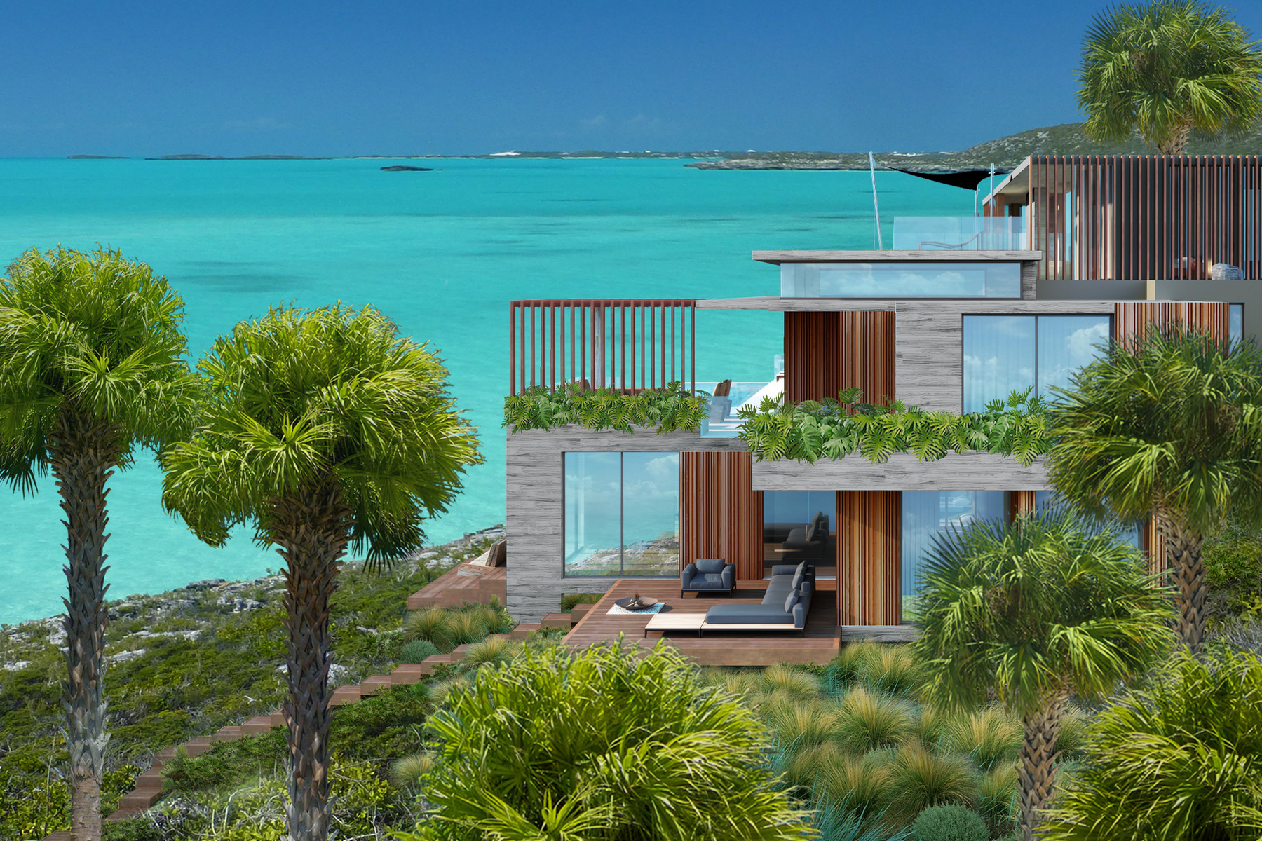 Additional photo for property listing at Headland Villas - Lot 2 Turtle Tail, Providenciales Turks And Caicos Islands