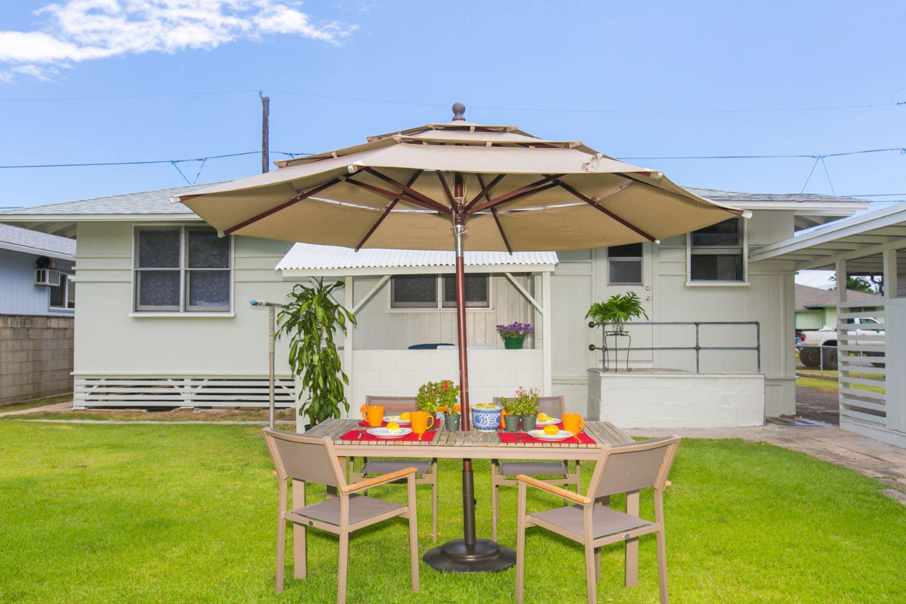 Casa para uma família para Venda às Charming Kailua Retreat 309 Manae Street Kailua, Havaí 96734 Estados Unidos