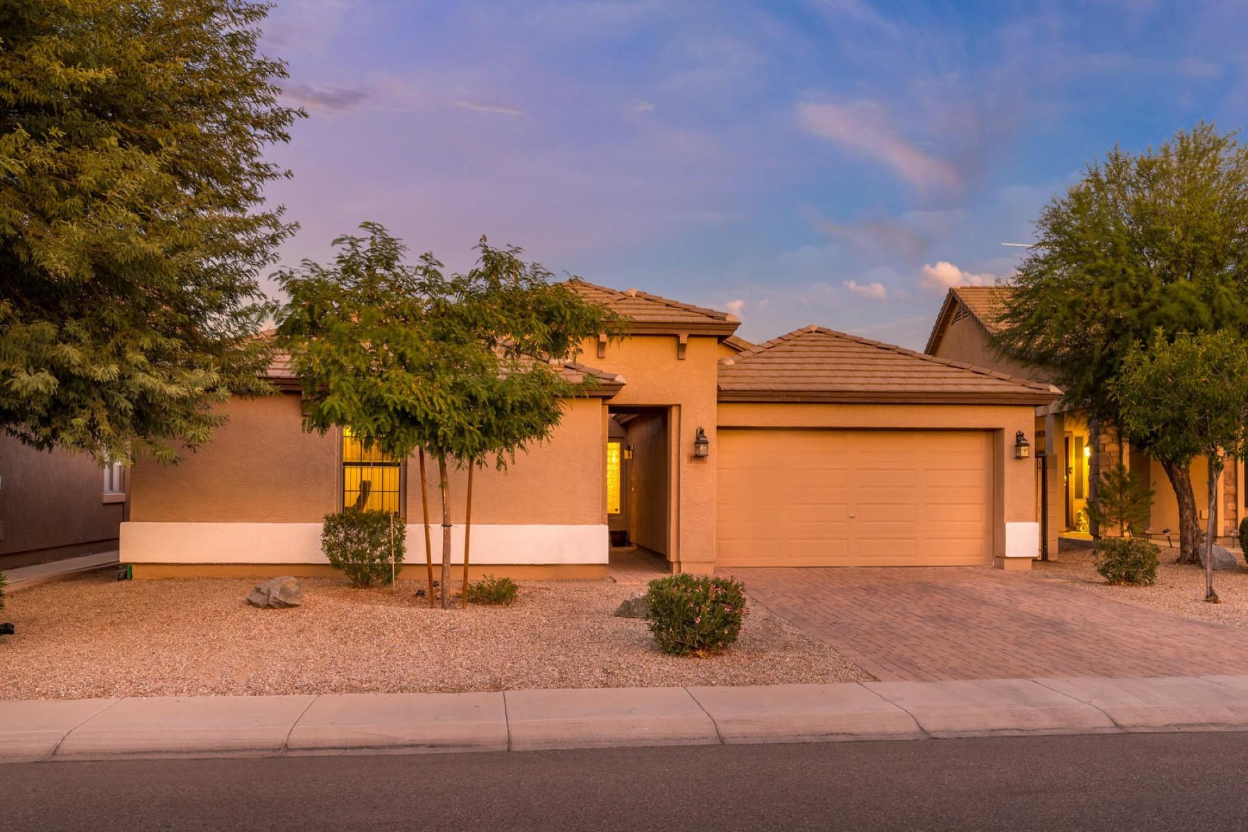 Single Family Homes por un Venta en Skyline Ranch 34015 N Slate Creek DR San Tan Valley, Arizona 85143 Estados Unidos