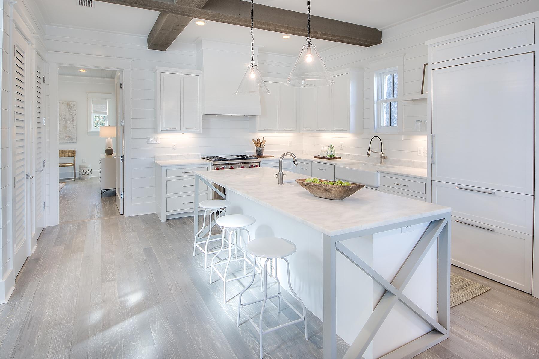Частный односемейный дом для того Продажа на Furnished Custom Home To-be-built in Waterfront Setting Parcel 2 Garfield Street, Santa Rosa Beach, Флорида, 32459 Соединенные Штаты