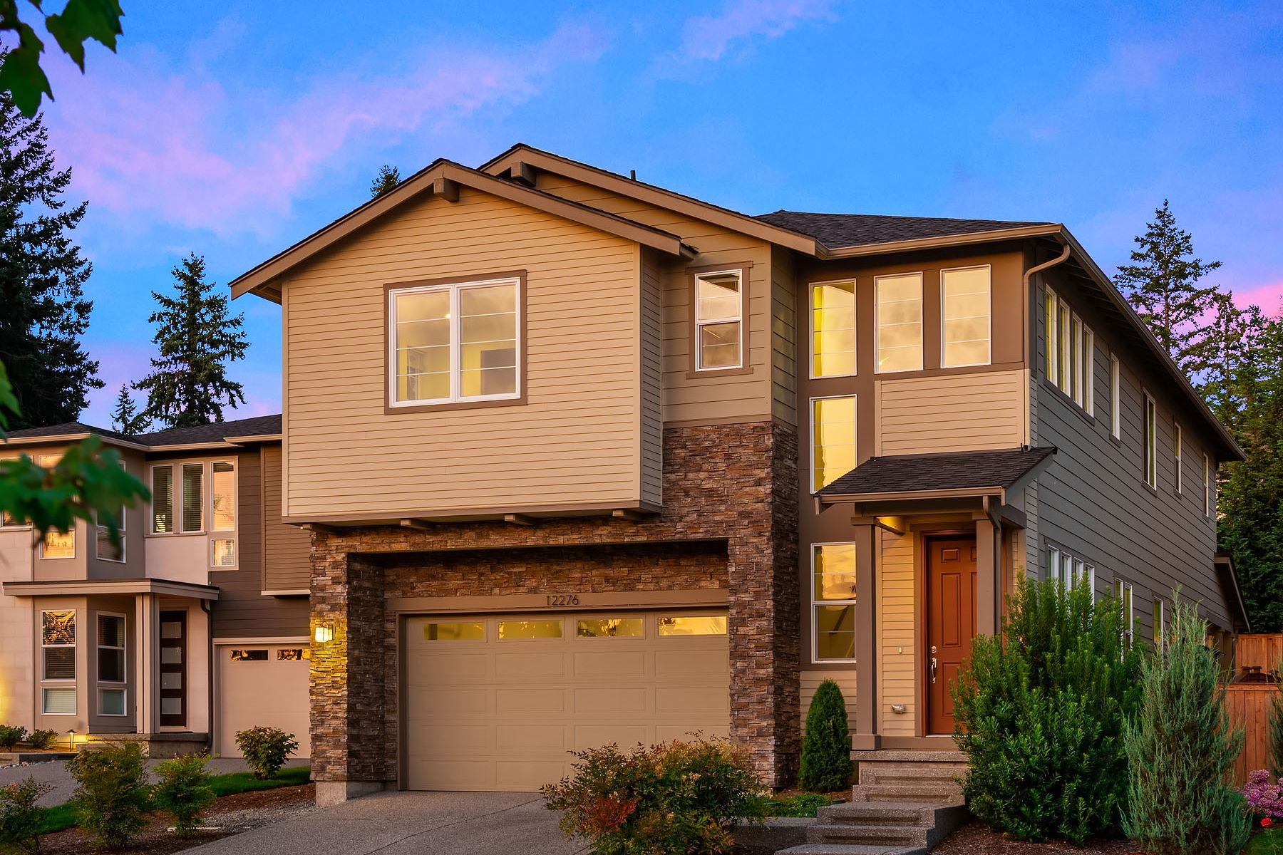 Single Family Homes for Sale at Sophisticated Redmond Elegance 12276 167th Place NE Redmond, Washington 98052 United States