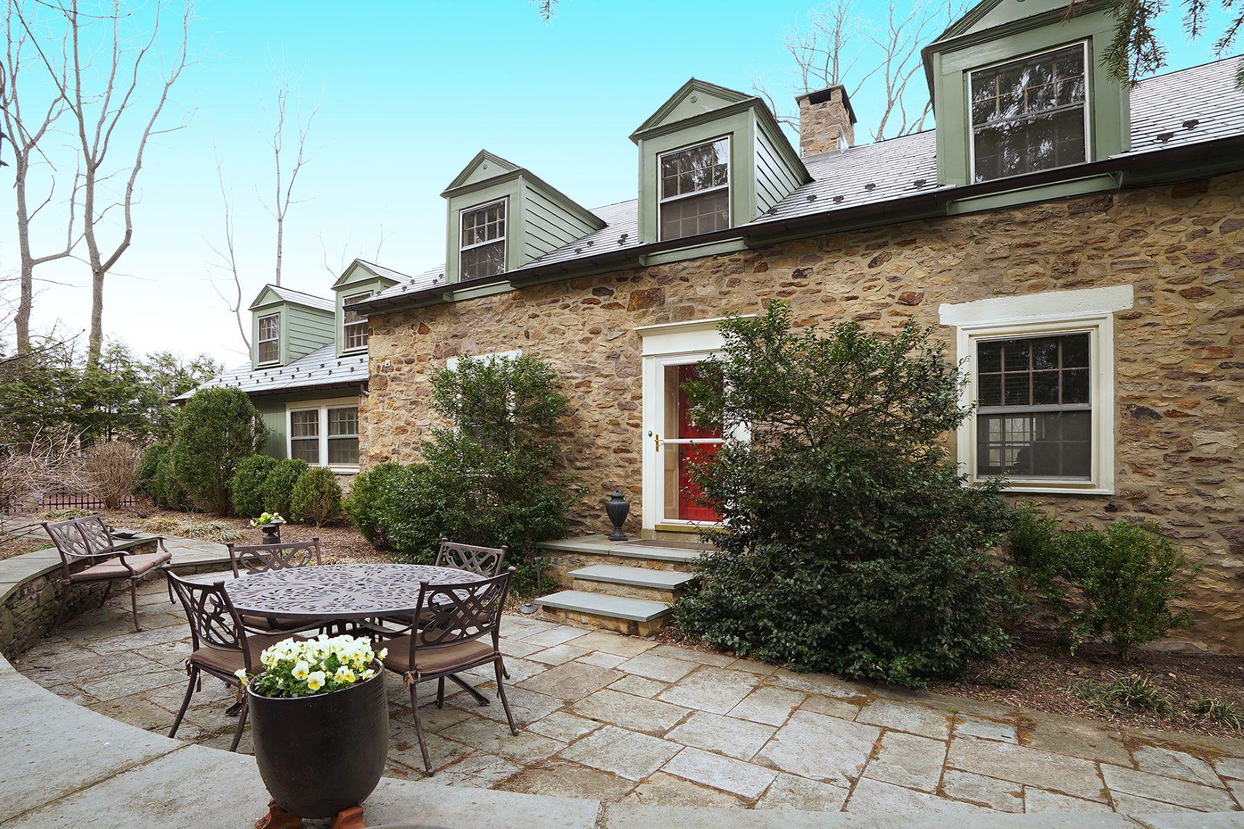 Single Family Home for Sale at Converted School House, circa 1857 3157 Church School Road, Doylestown, Pennsylvania 18902 United StatesMunicipality: Buckingham Township