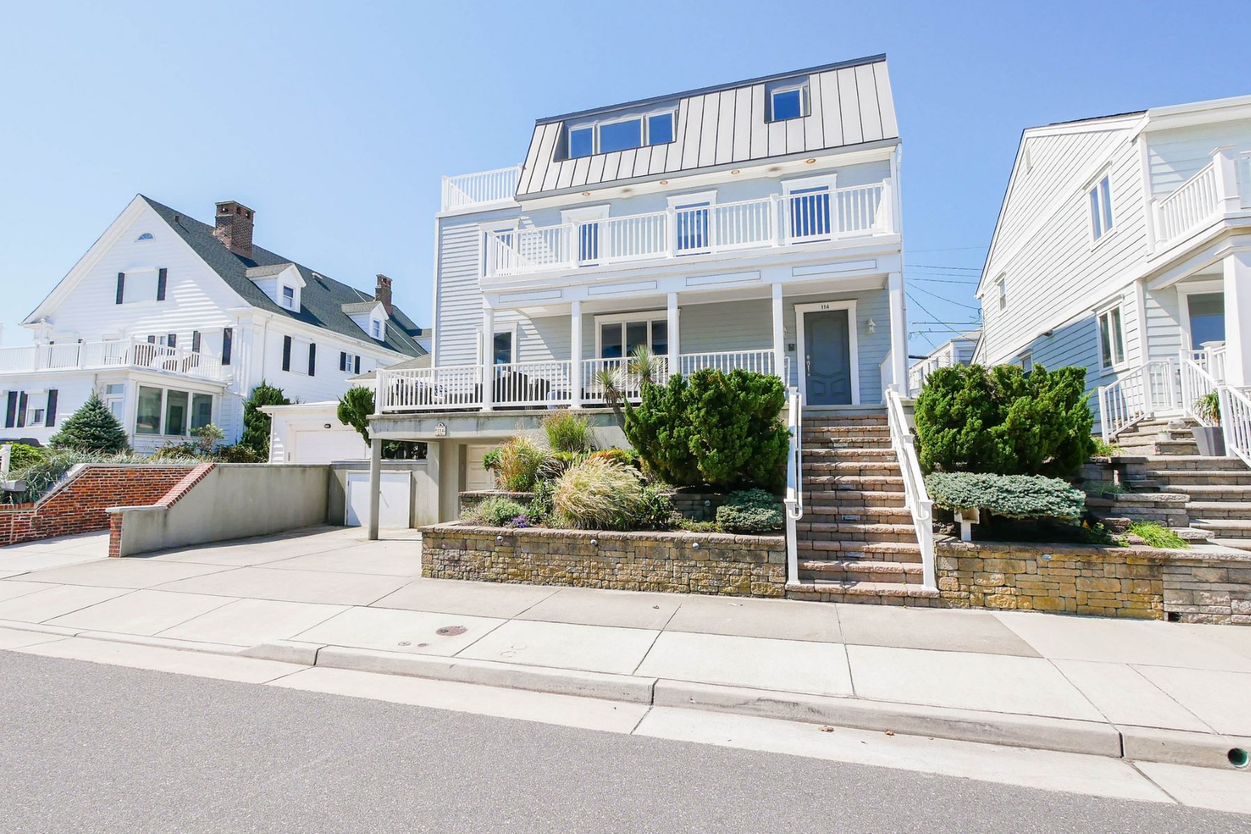 Single Family Homes for Active at 114 S. Mansfield Ave. 114 S. Mansfield Ave, BEACHBLOCK ONE OFF OCEANFRONT Margate, New Jersey 08406 United States