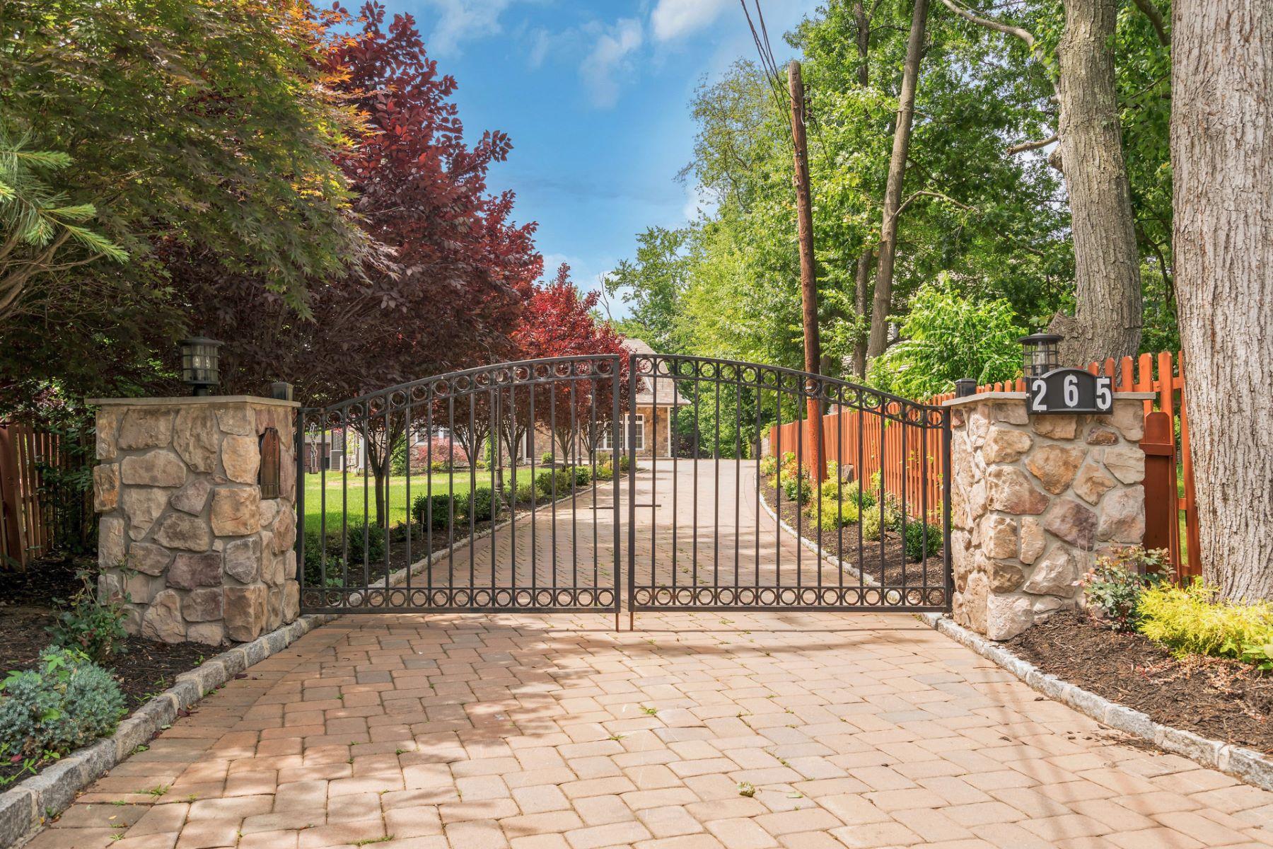 Частный односемейный дом для того Продажа на Custom Built Colonial 265 Piermont Rd Cresskill, Нью-Джерси, 07626 Соединенные Штаты