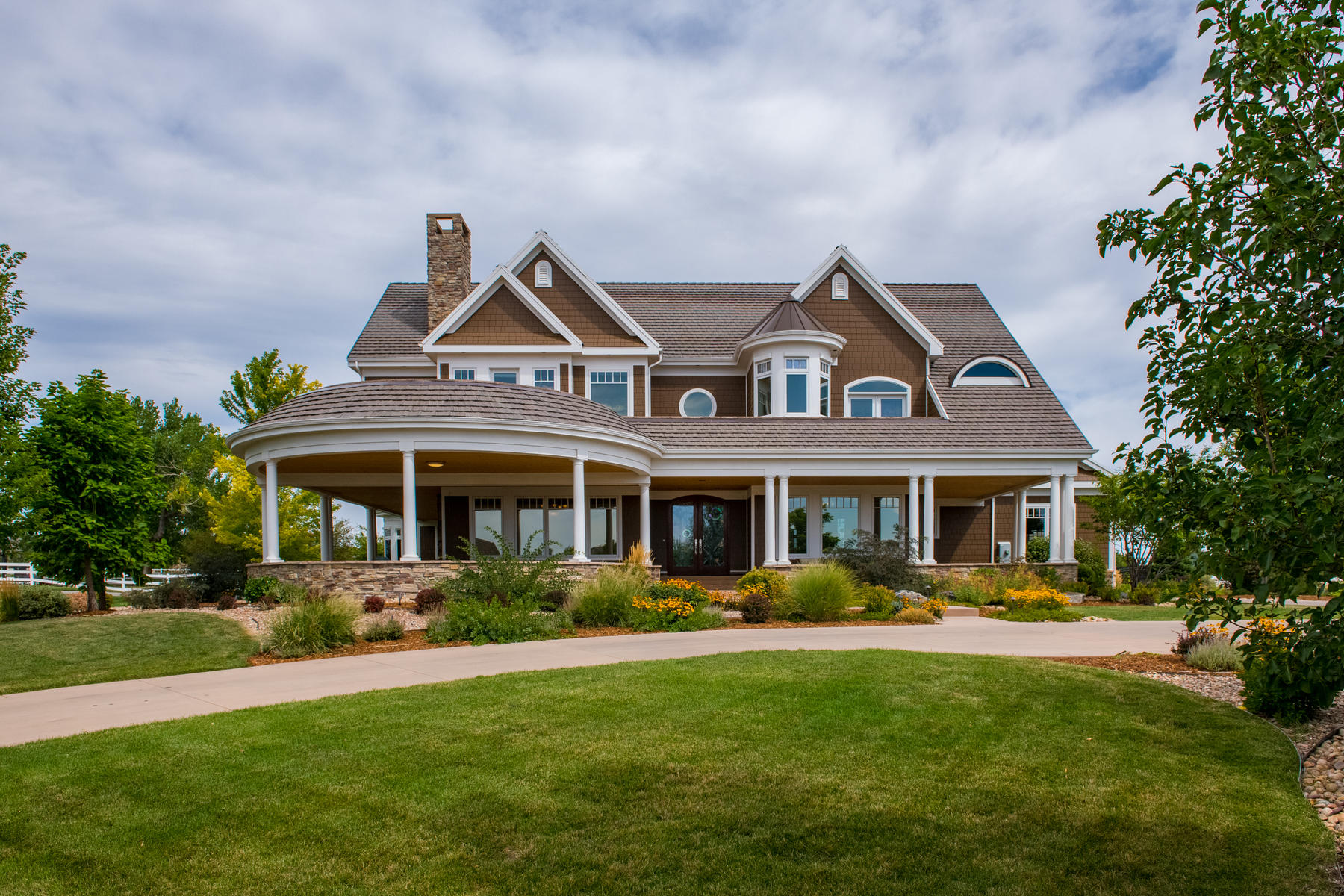 Single Family Homes for Active at Sophisticated Coastal-Style Custom on 1.56 Acres is a Connoisseur's Dream 15144 Prairie Place Broomfield, Colorado 80023 United States