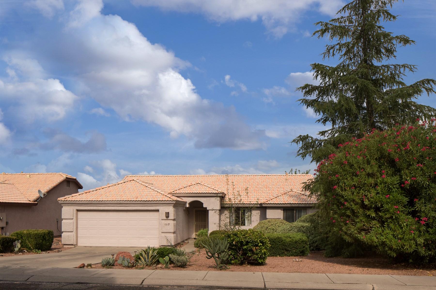 Частный односемейный дом для того Продажа на Lovely and elegant Southwest home in Vista Grande Ranch 1113 S Viejo Drive Cottonwood, Аризона, 86326 Соединенные Штаты