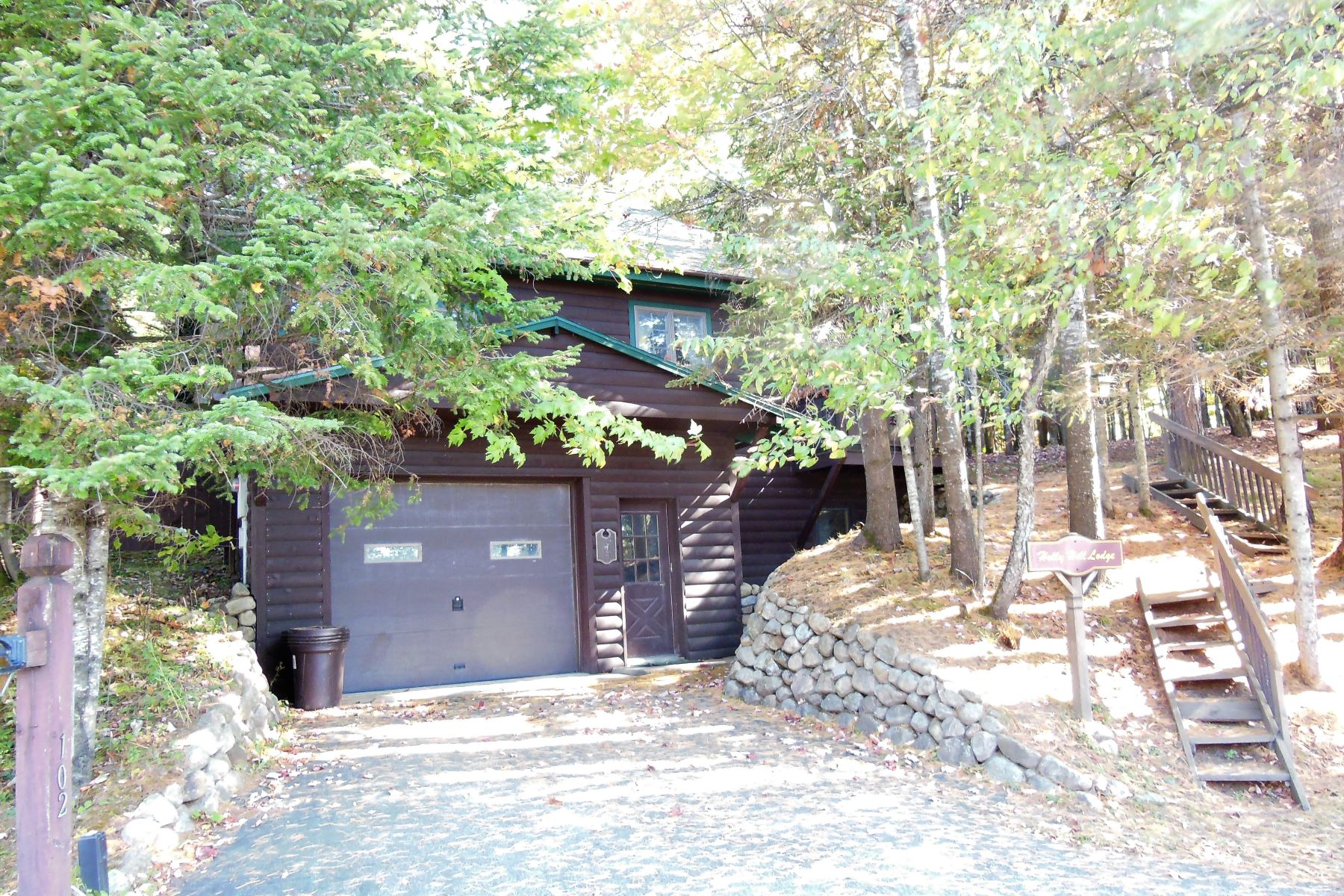 Single Family Home for Sale at Year-round Log Home with Commercial Potential 103 Hollywood Rd. Old Forge, New York 13420 United States