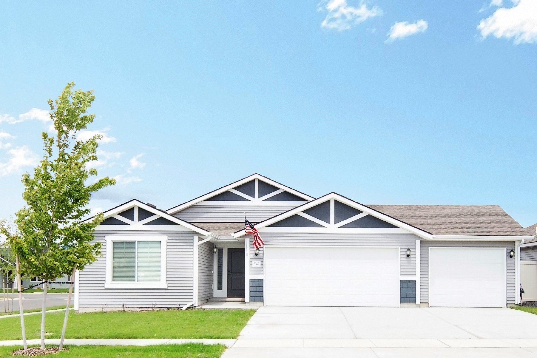 Single Family Homes pour l Vente à Beautiful Carolina Floor Plan in Montrose 1967 W Calawah Ave Post Falls, Idaho 83854 États-Unis