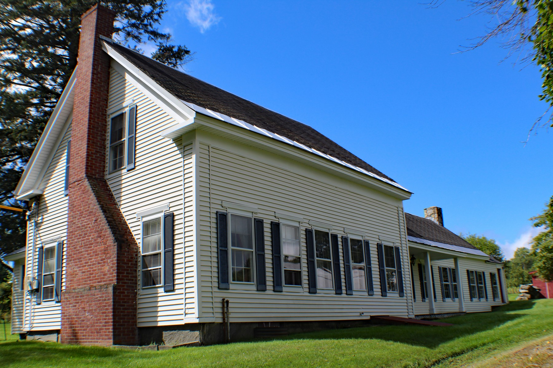 single family homes for Sale at Vermont Farmhouse with Horse Potential on 10 Acres 902 Cummings Rd Chester, Vermont 05143 United States