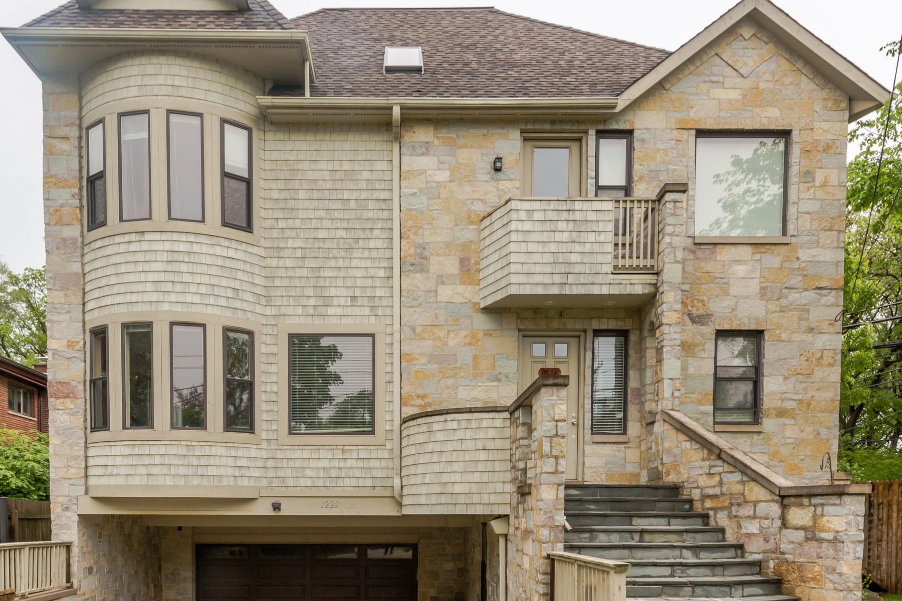 Maison unifamiliale pour l Vente à Light-Filled Four Bedroom Home 1221 IsaBella Street Evanston, Illinois, 60201 États-Unis