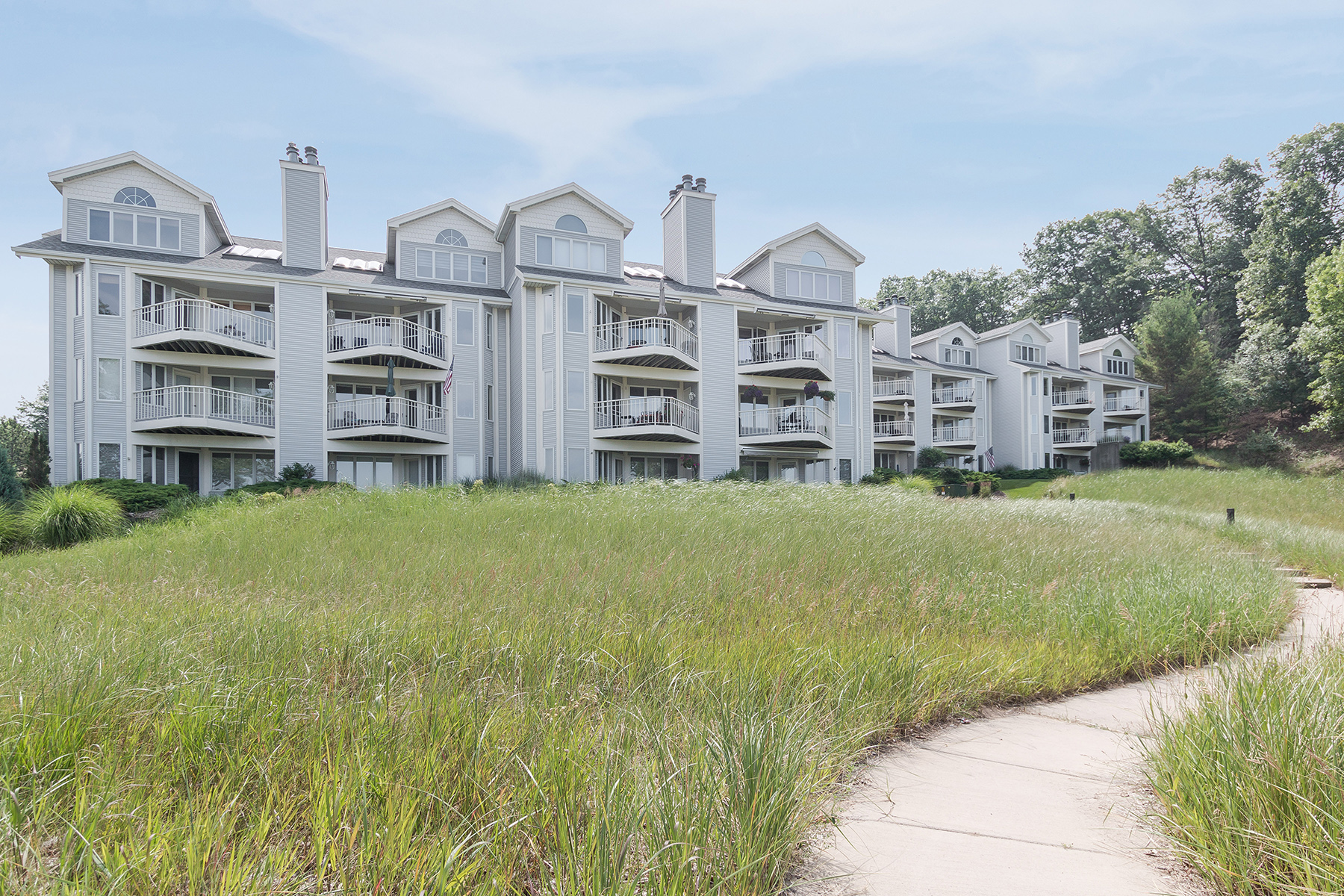 Condominium for Sale at Discreet Condo With Harbor Views 810 South Harbor Drive 19 Grand Haven, Michigan, 49417 United States