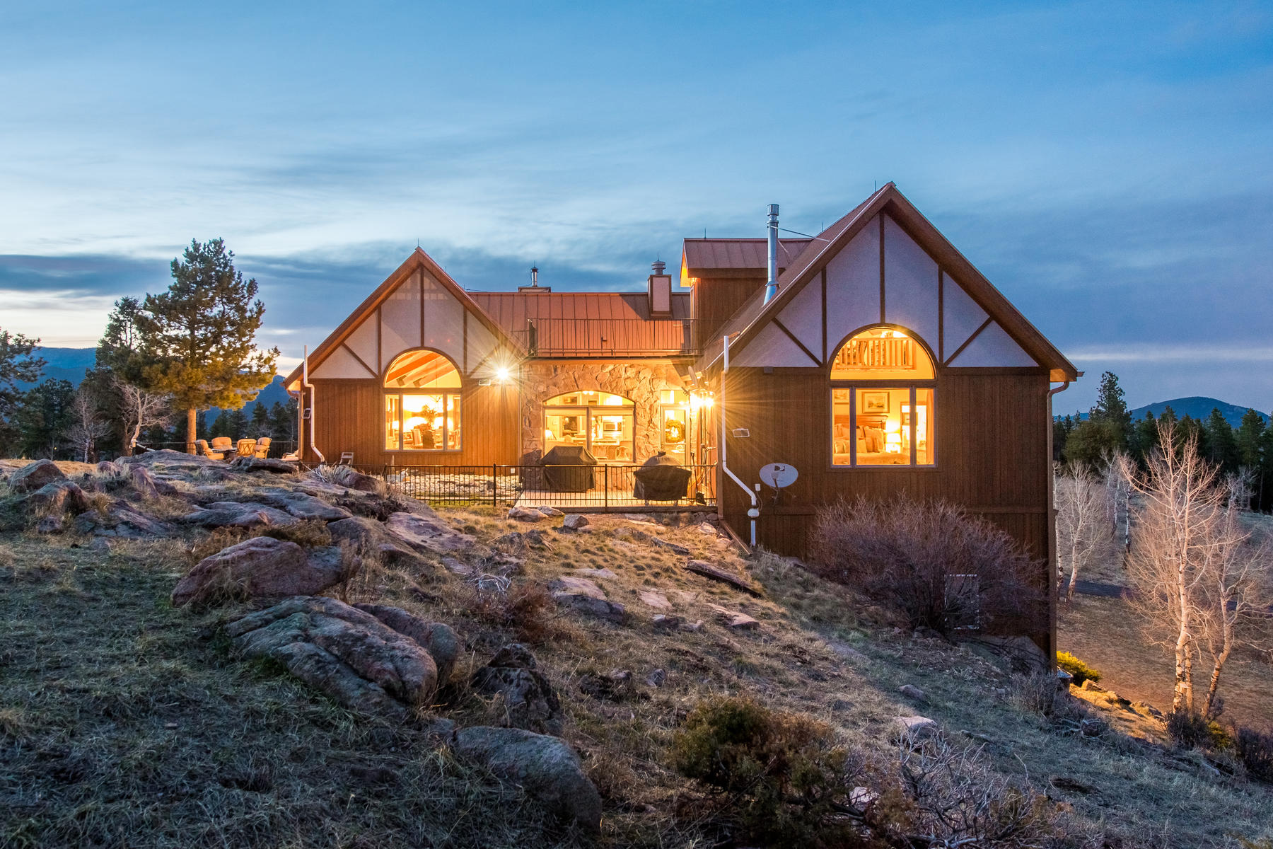 Single Family Home for Active at Stunning 10 Acre Home! 12441 Richmond Court Conifer, Colorado 80433 United States