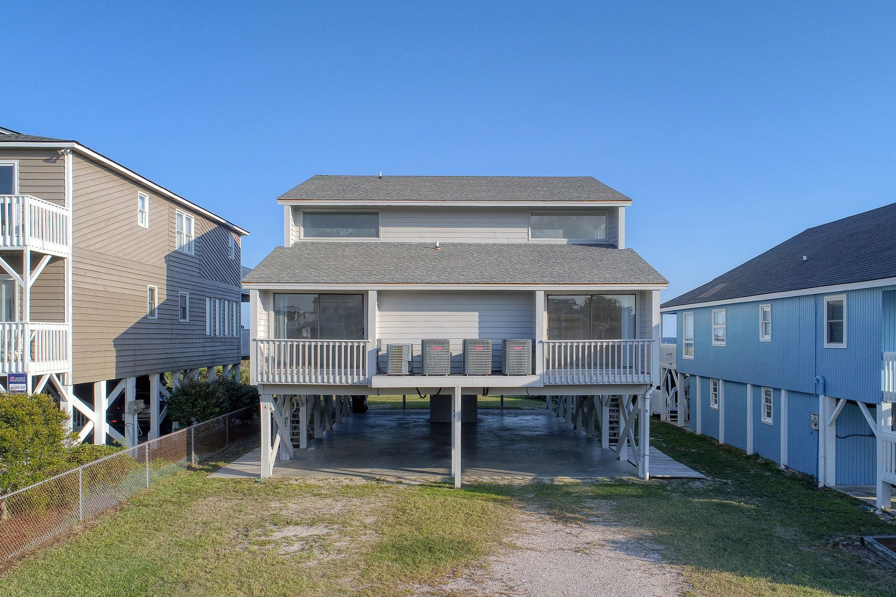 Single Family Homes for Active at Ocean Front on Sunset Beach 1504 E Main St A Sunset Beach, North Carolina 28468 United States