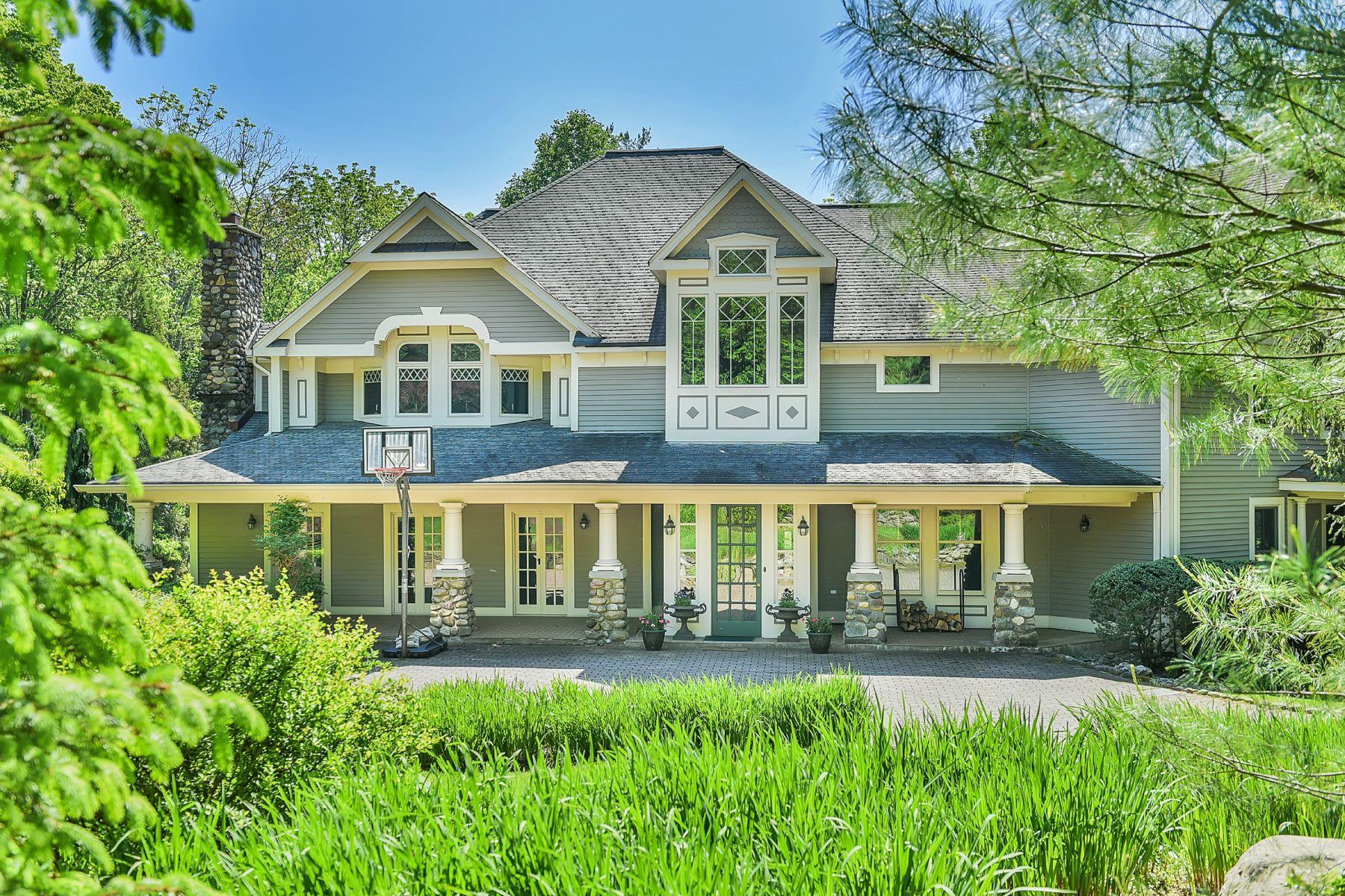 single family homes per Vendita alle ore Resort Style Estate 2.3 ac 424 West Saddle River Road, Upper Saddle River, New Jersey 07458 Stati Uniti