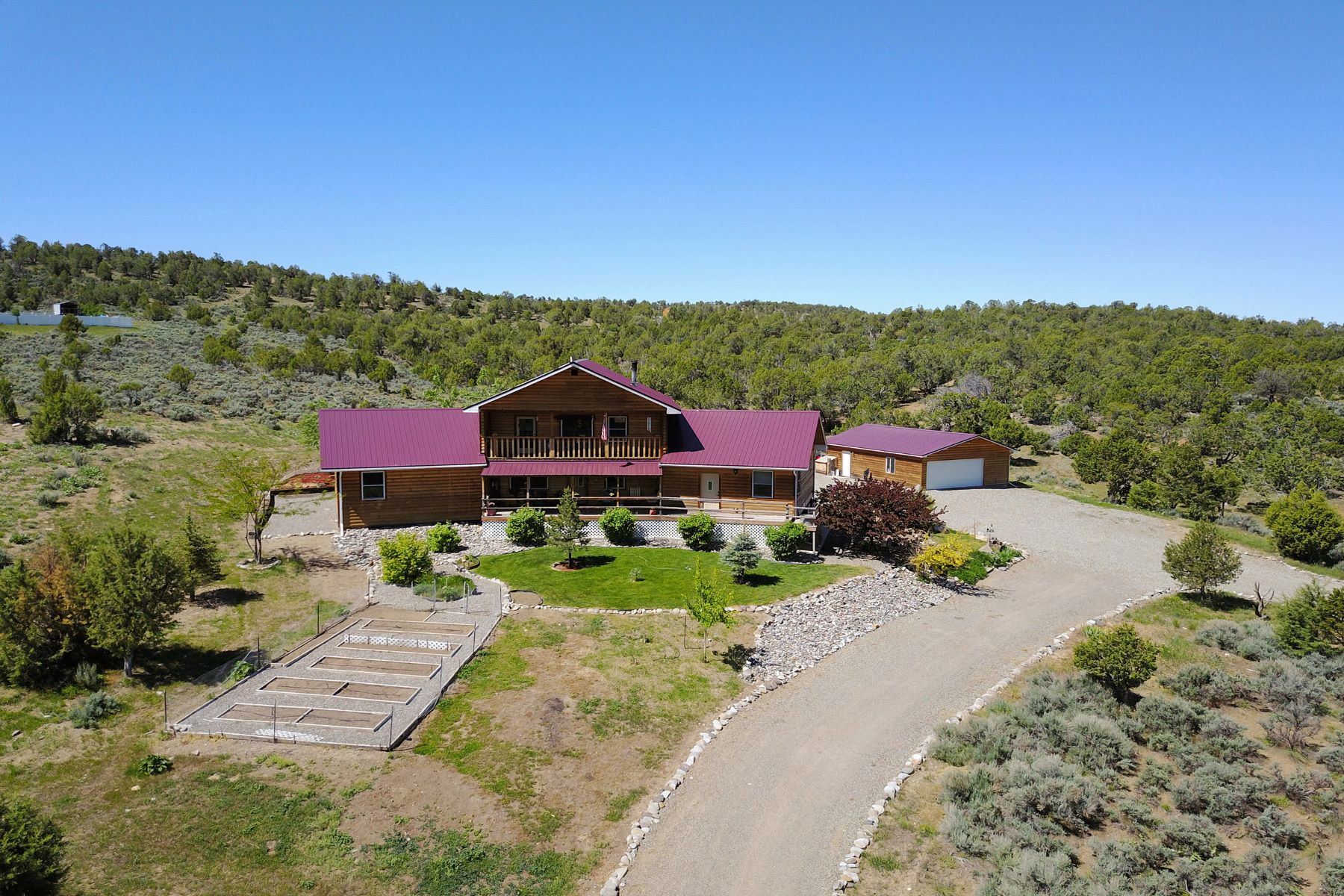 Single Family Home for Sale at Crawford Home on 4+ Acres 40407 D Road Crawford, Colorado 81415 United States