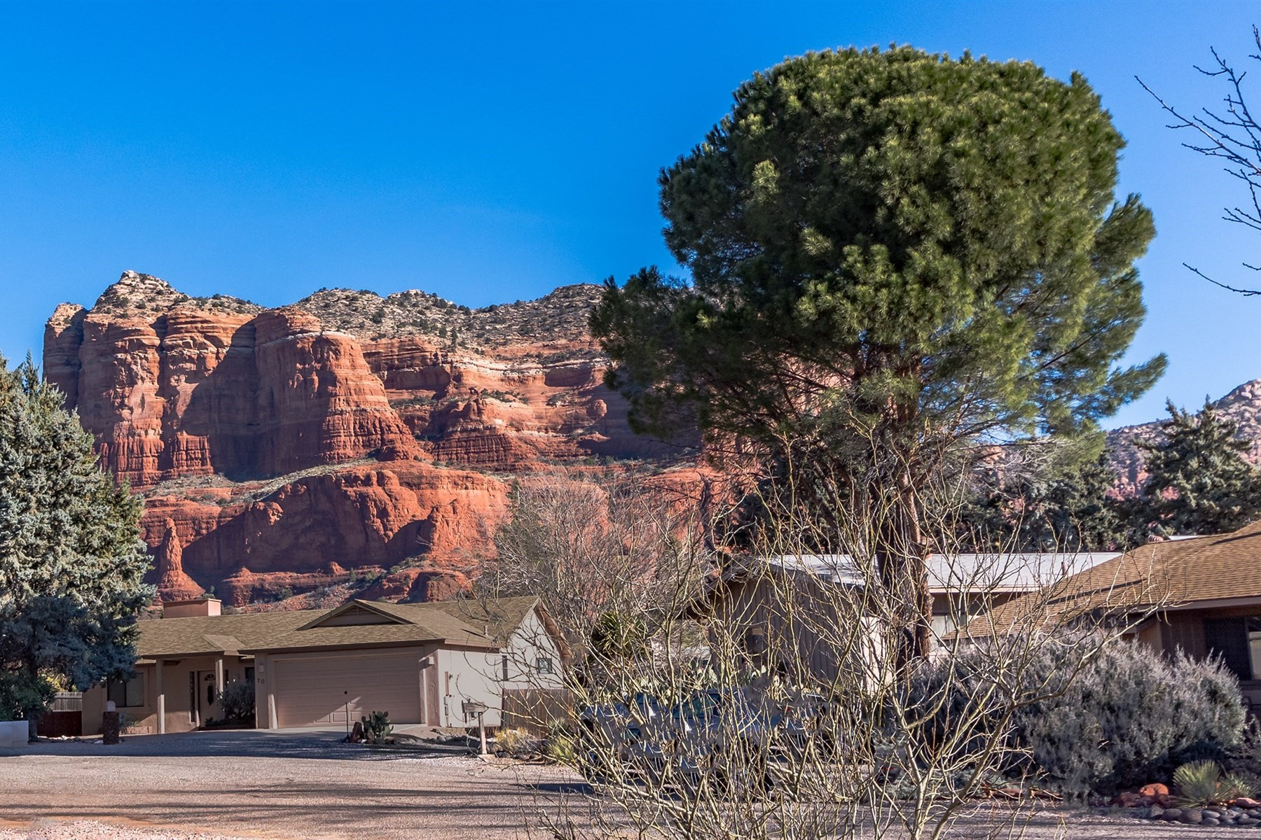 Single Family Home for Sale at Modern and Meticulously kept home in Sedona 45 Supai Drive Sedona, Arizona, 86351 United States