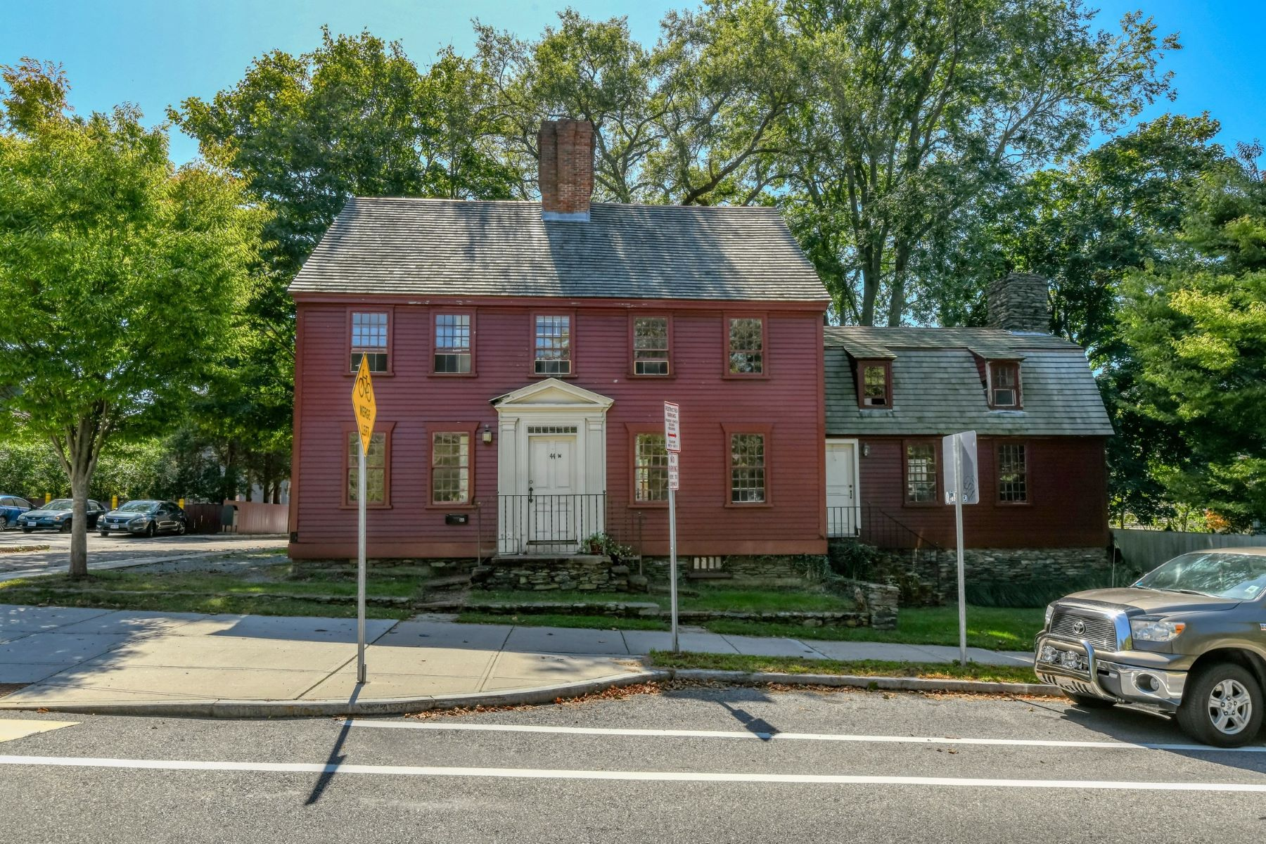 Single Family Homes for Sale at 1730's Stone End Colonial 44-46 Memorial Boulevard Newport, Rhode Island 02840 United States