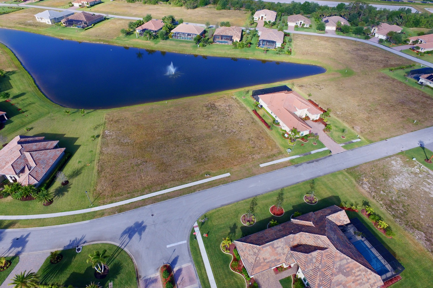 Land for Sale at Lakeside Homesite in Gated Community of Grand Executive Style Homes 495 Stoney Brook Farm Court Vero Beach, Florida 32968 United States