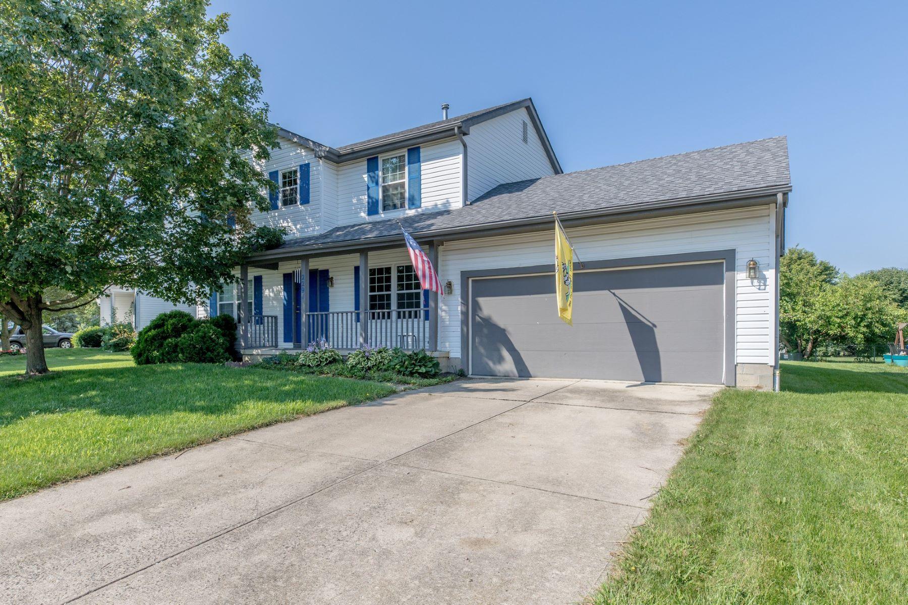 独户住宅 为 销售 在 2291 Highlandtown Drive Hilliard, 俄亥俄州, 43026 美国