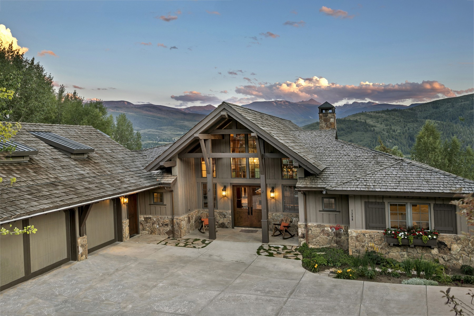 Single Family Home for Active at Exceptional views from this Cordillera Valley Club home 1398 Beard Creek Trail Edwards, Colorado 81632 United States