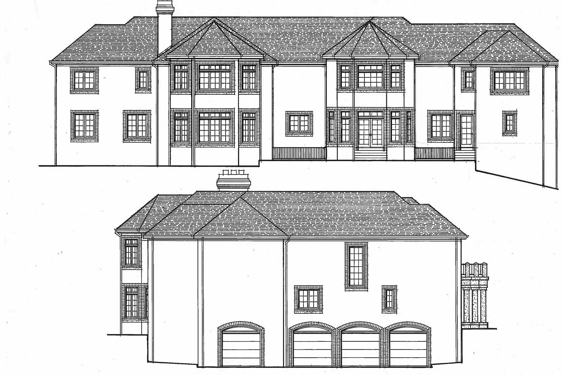 独户住宅 为 销售 在 Grand Colonial Manor 60 Rio Vista Dr 阿尔派恩, 新泽西州 07620 美国