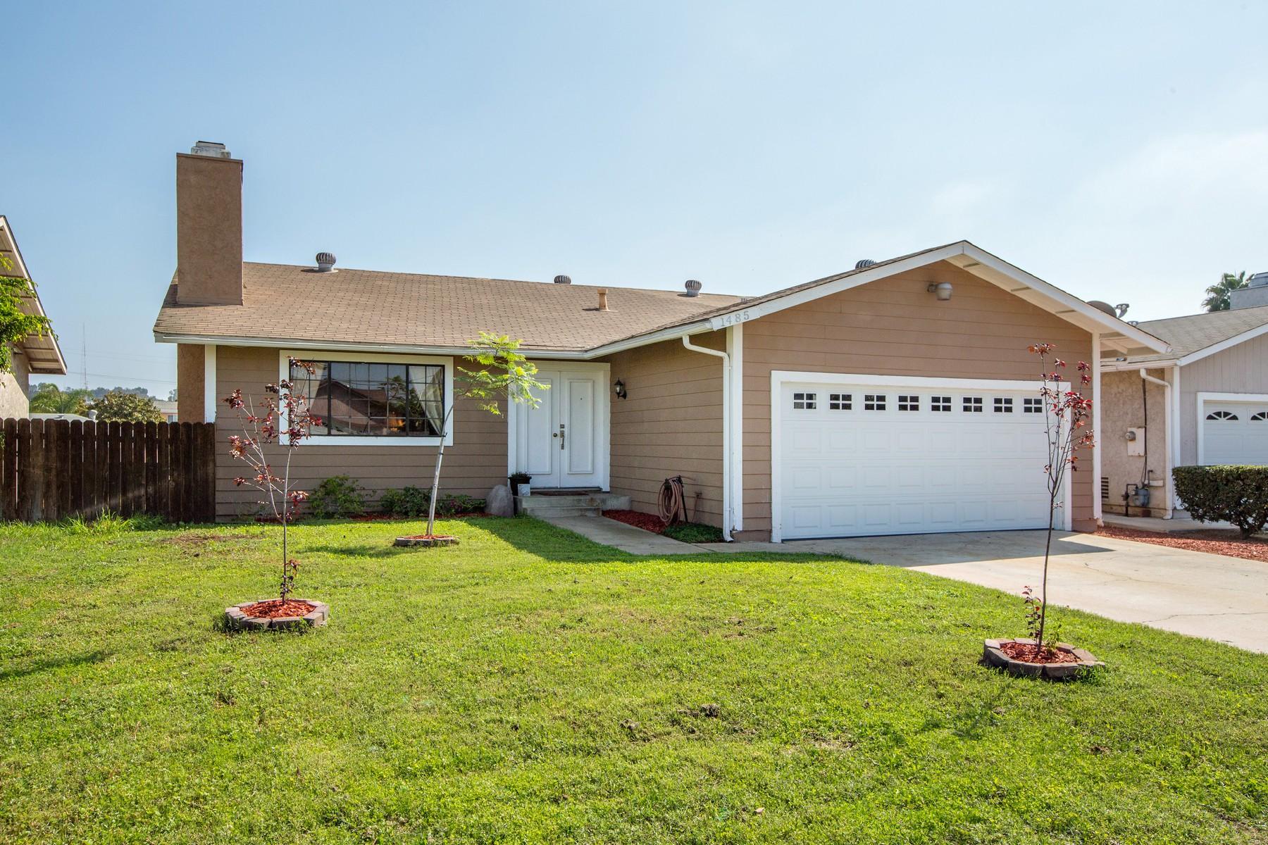 Maison unifamiliale pour l Vente à 1485 50th Street, San Diego, CA 92102 San Diego, Californie, 92102 États-Unis