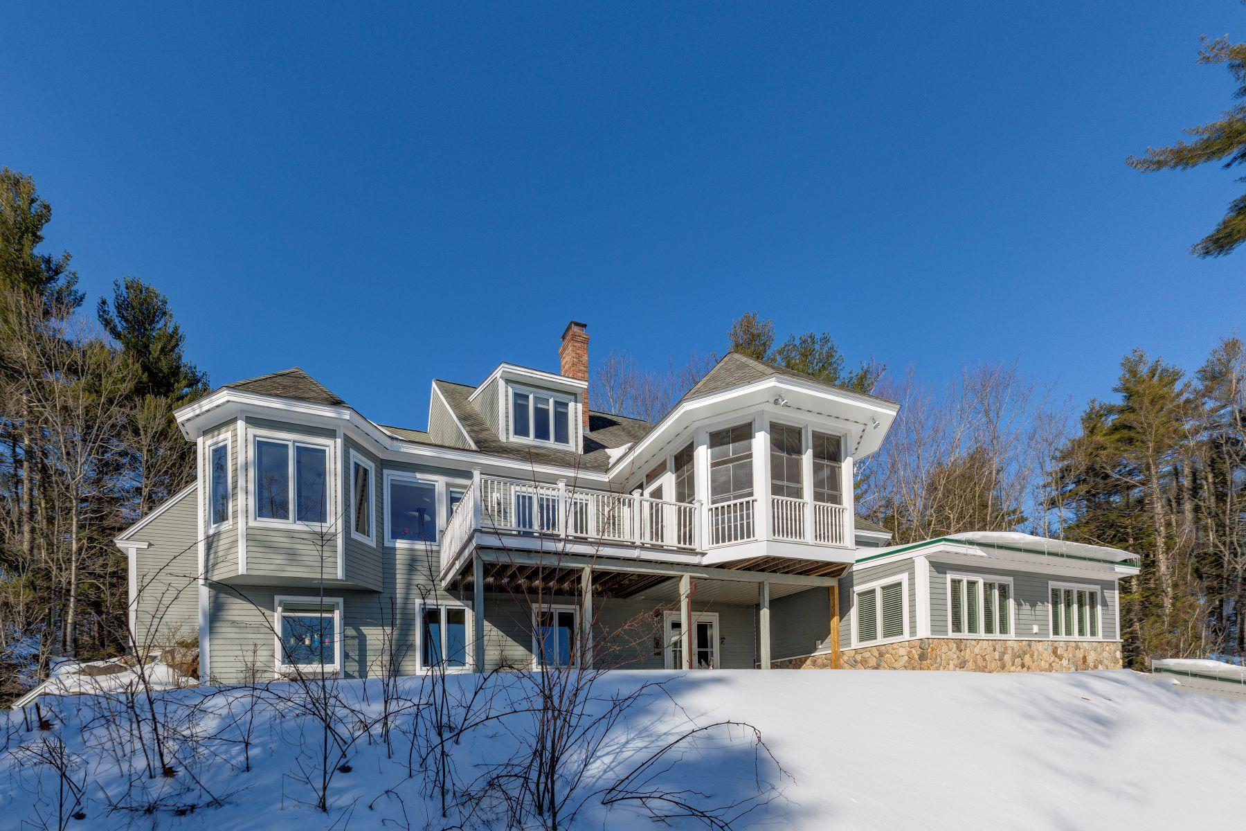 独户住宅 为 销售 在 Beautiful home with scenic views 450 Hall Farm Rd 新伦敦, 新罕布什尔州 03257 美国