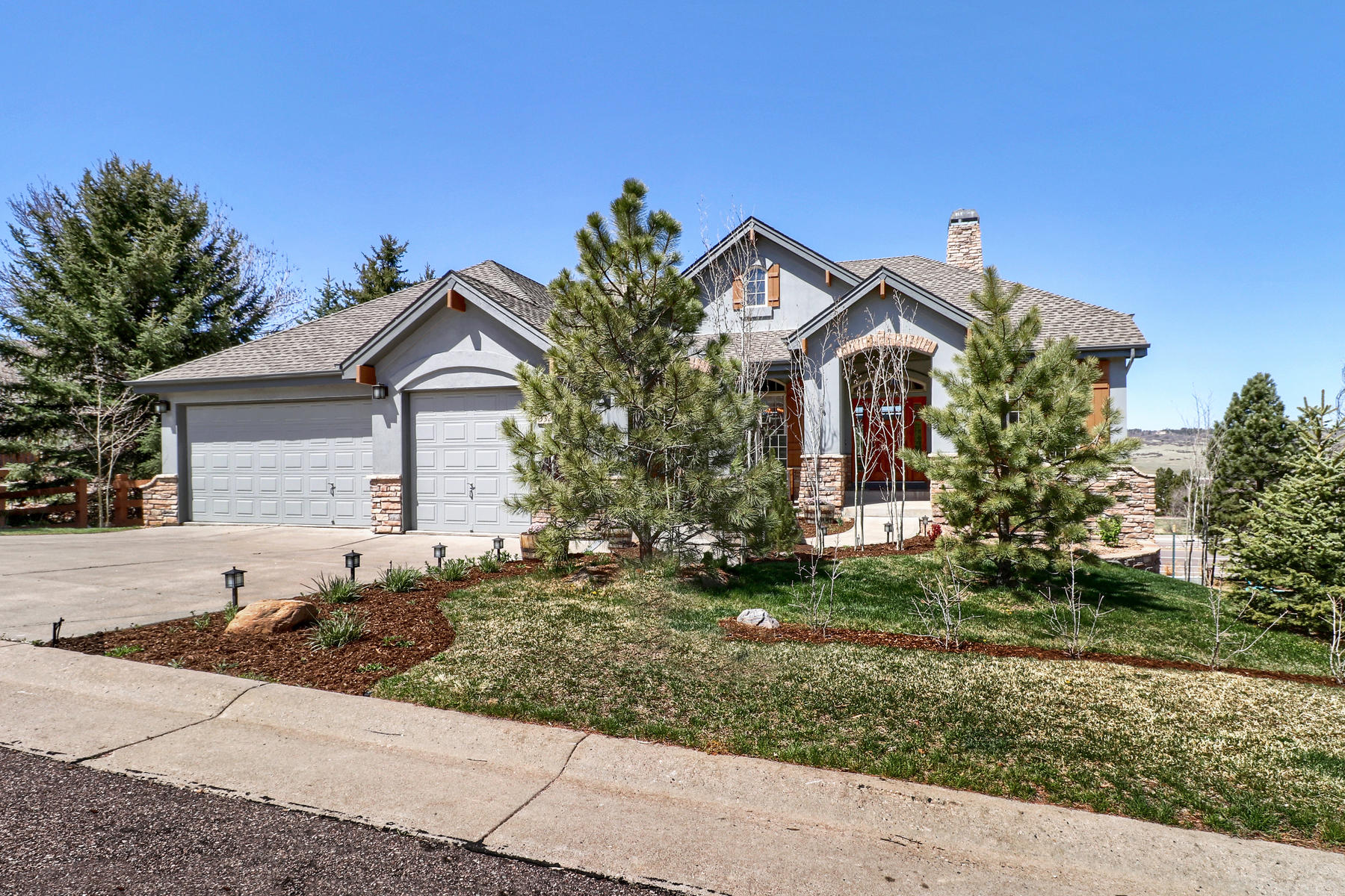Single Family Home for Active at New homes wish they were this fabulous! 3325 Red Tree Pl Castle Rock, Colorado 80104 United States