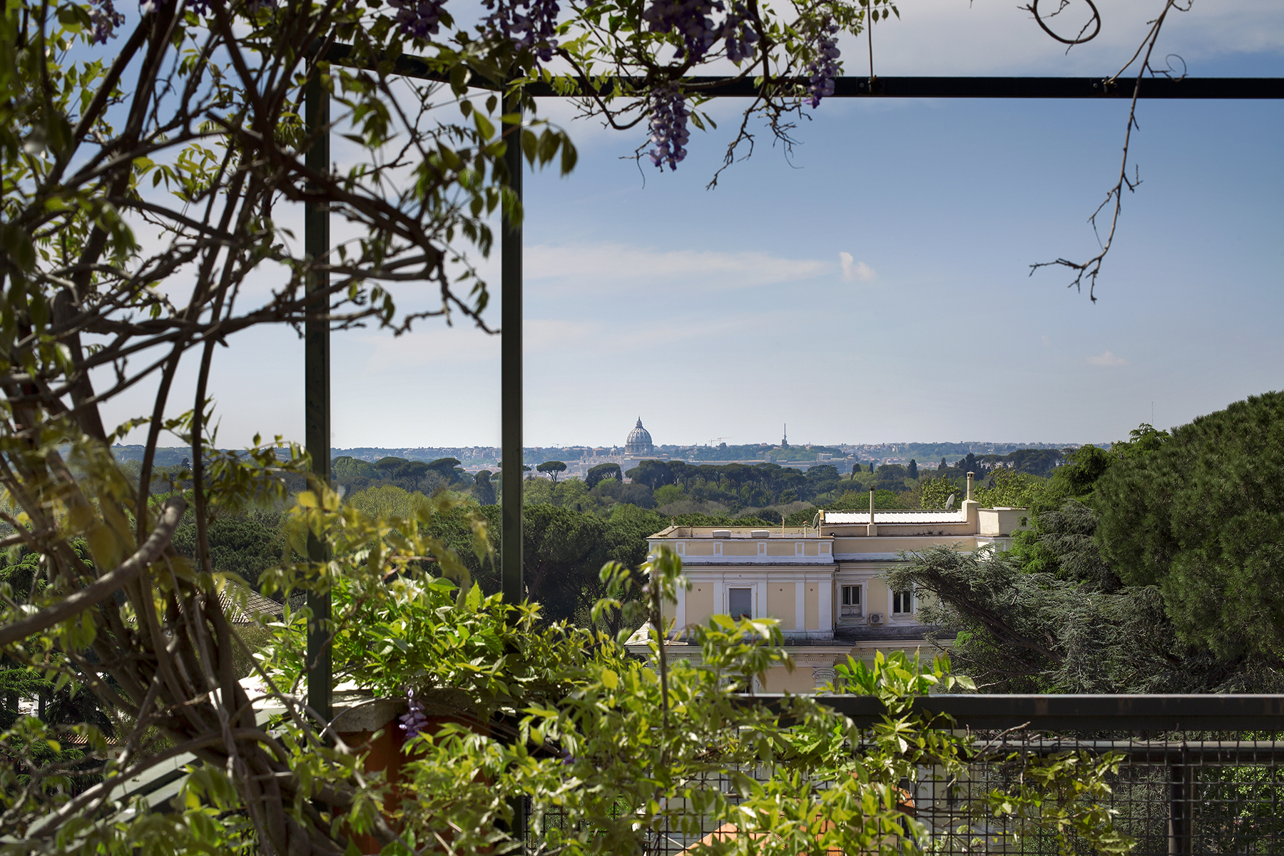 Apartment for Rent at Beautiful penthouse with panoramic views Rome, Italy