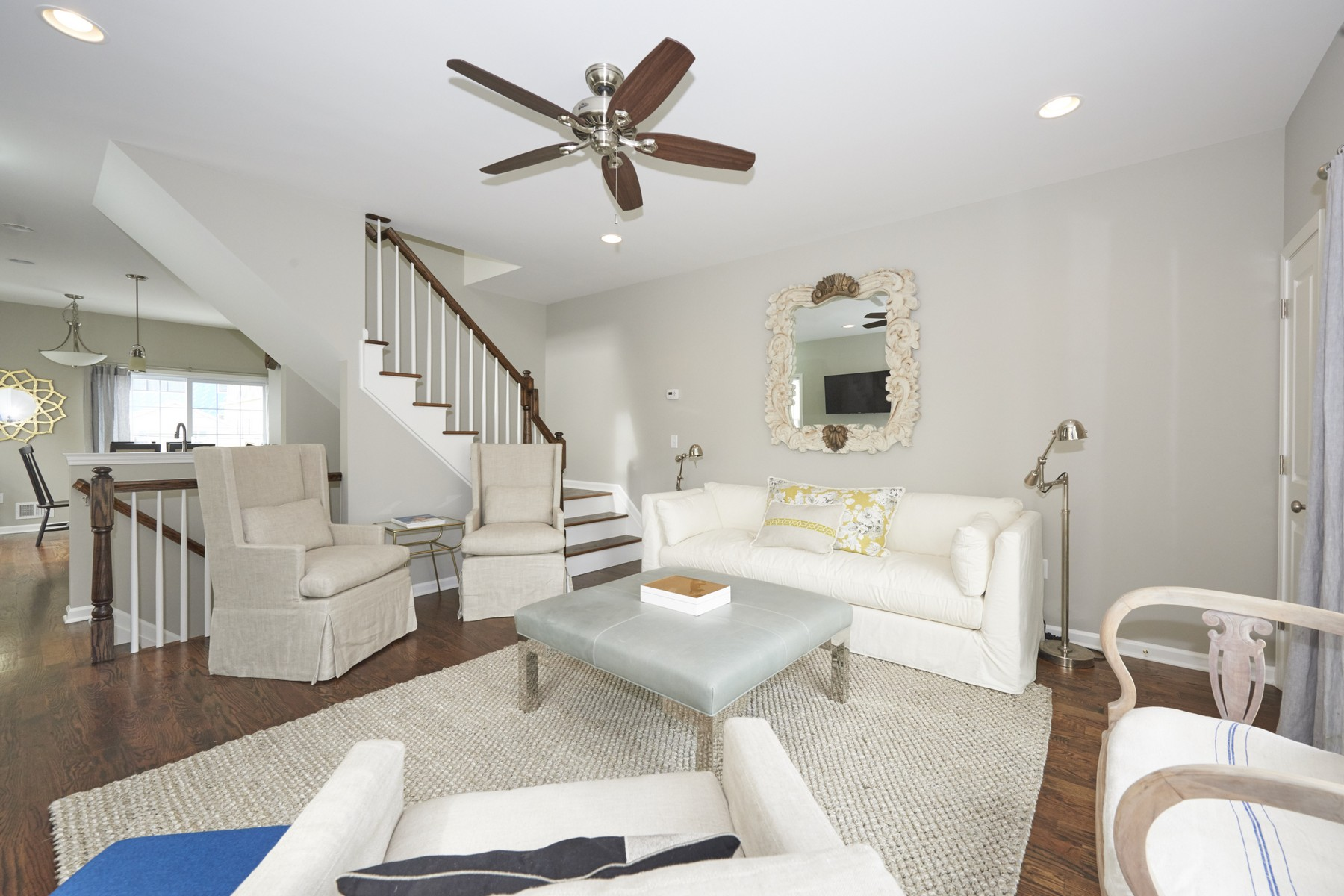 Single Family Homes for Sale at Mulit-level Beach Home in the heart of popular Sea Bright NJ 8 E. Church Street Sea Bright, New Jersey 07760 United States