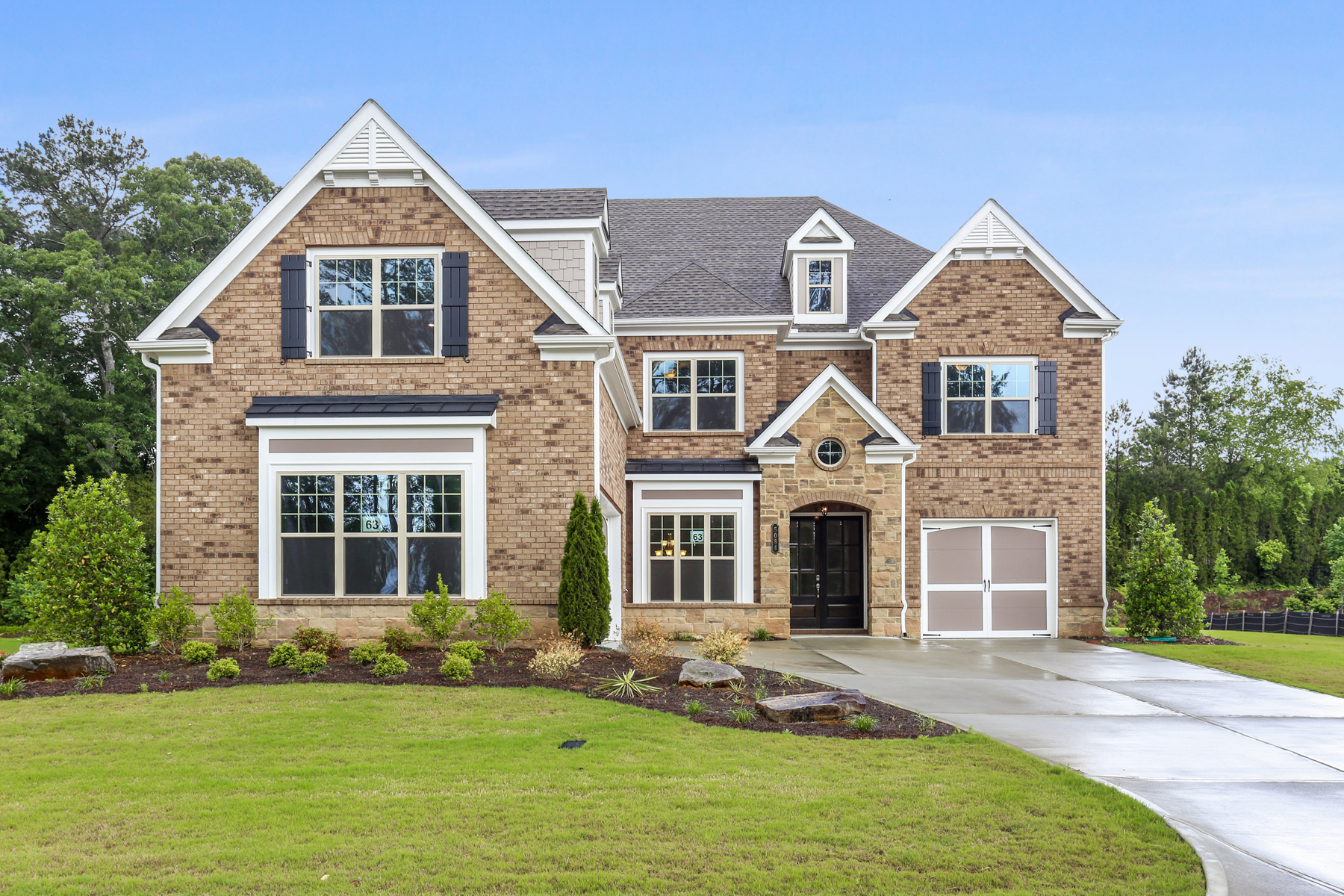 Single Family Home for Sale at Beautiful New Home In The Heart Of John's Creek On The Chattahoochee River! 5084 Dinant Drive Johns Creek, Georgia 30022 United States