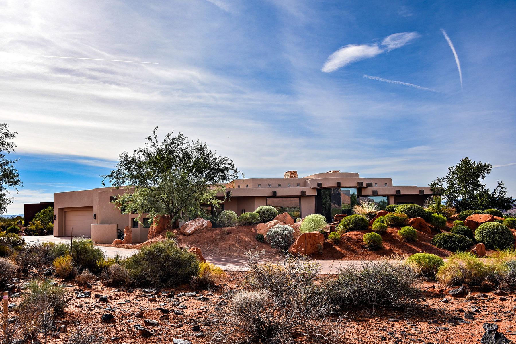 Single Family Home for Sale at Gorgeous Custom Estate Home 2484 Moenavi Circle St. George, Utah, 84770 United States