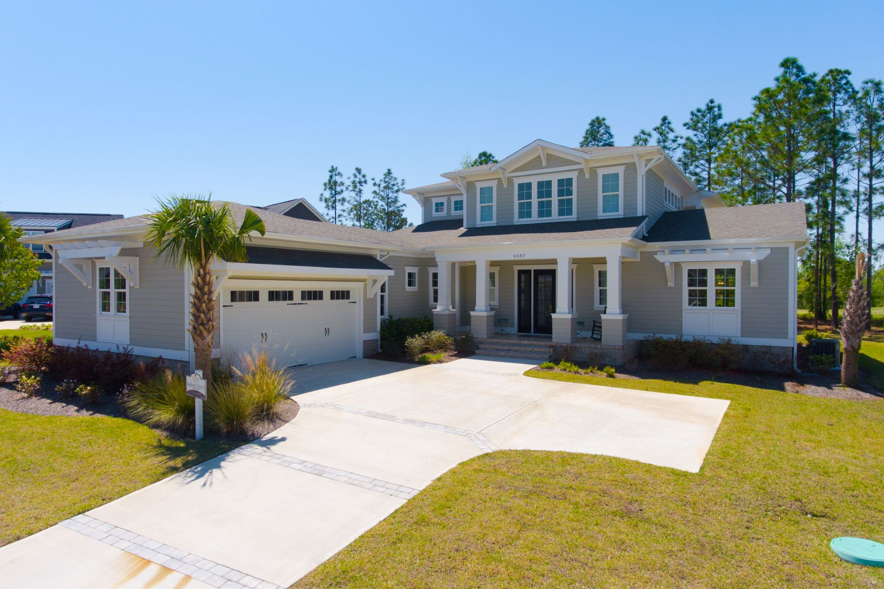 Single Family Homes for Active at Award Winning Home on 10th Fairway 8567 Robbins Walker Place Leland, North Carolina 28451 United States