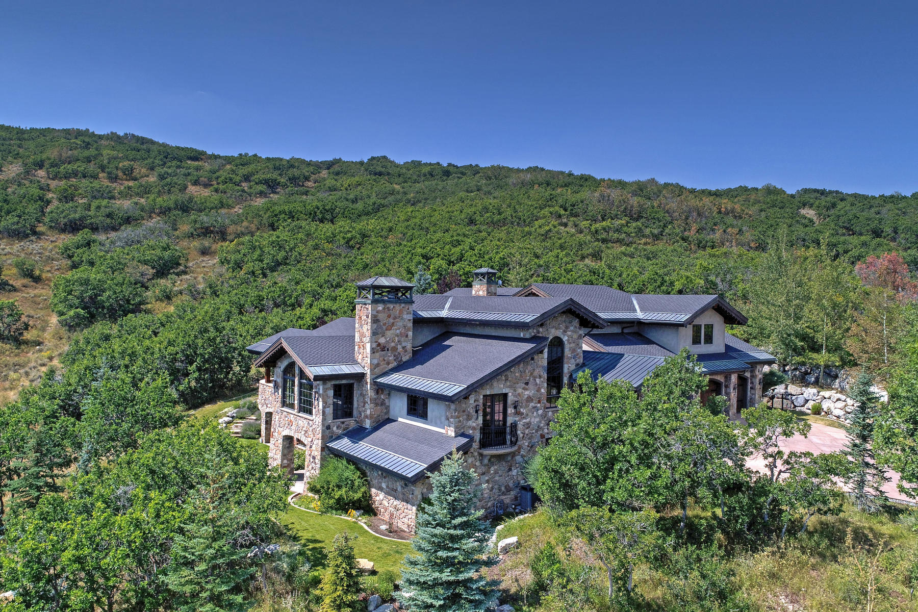 獨棟家庭住宅 為 出售 在 Elegant Glenwild Estate with Guest House 1035 Primrose Pl, Park City, 猶他州, 84098 美國