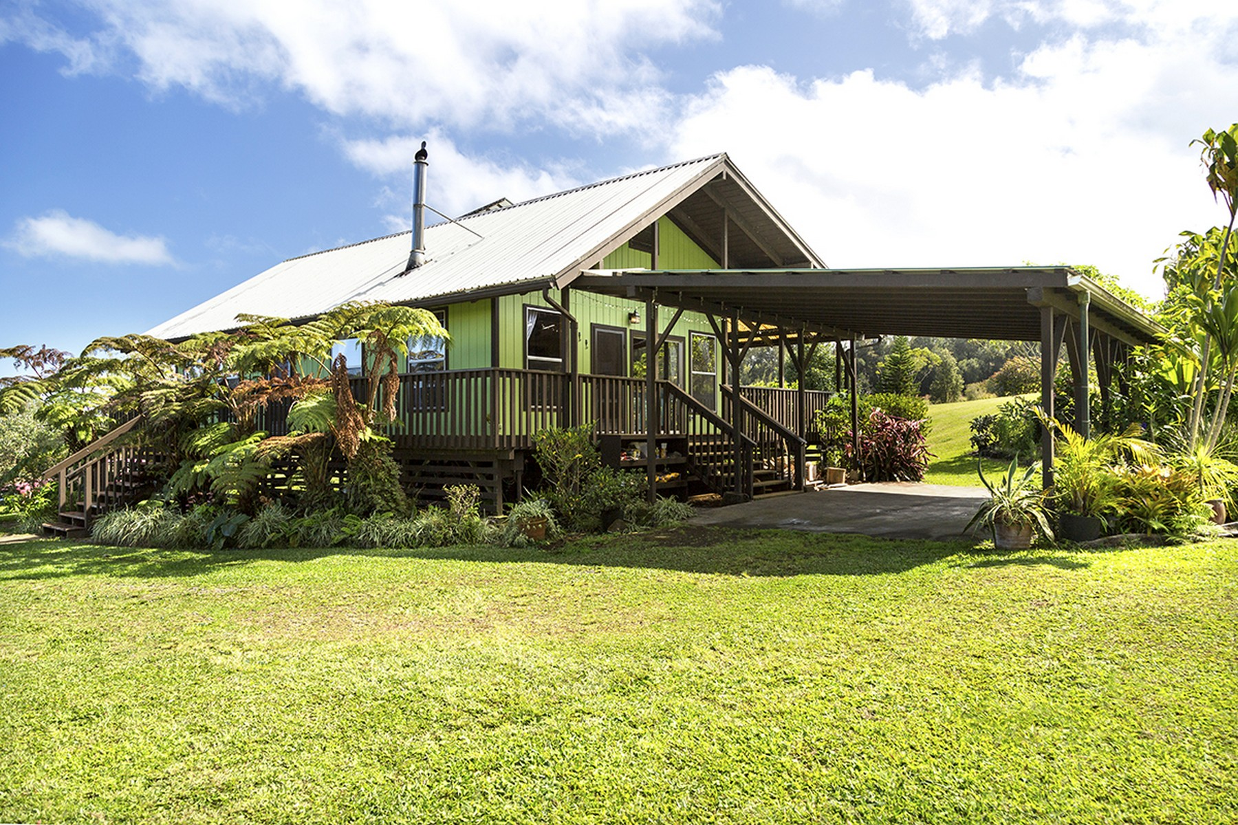 Single Family Home for Sale at Ahualoa Homesteads 45-3463 Kahana Dr. Honokaa, Hawaii 96727 United States