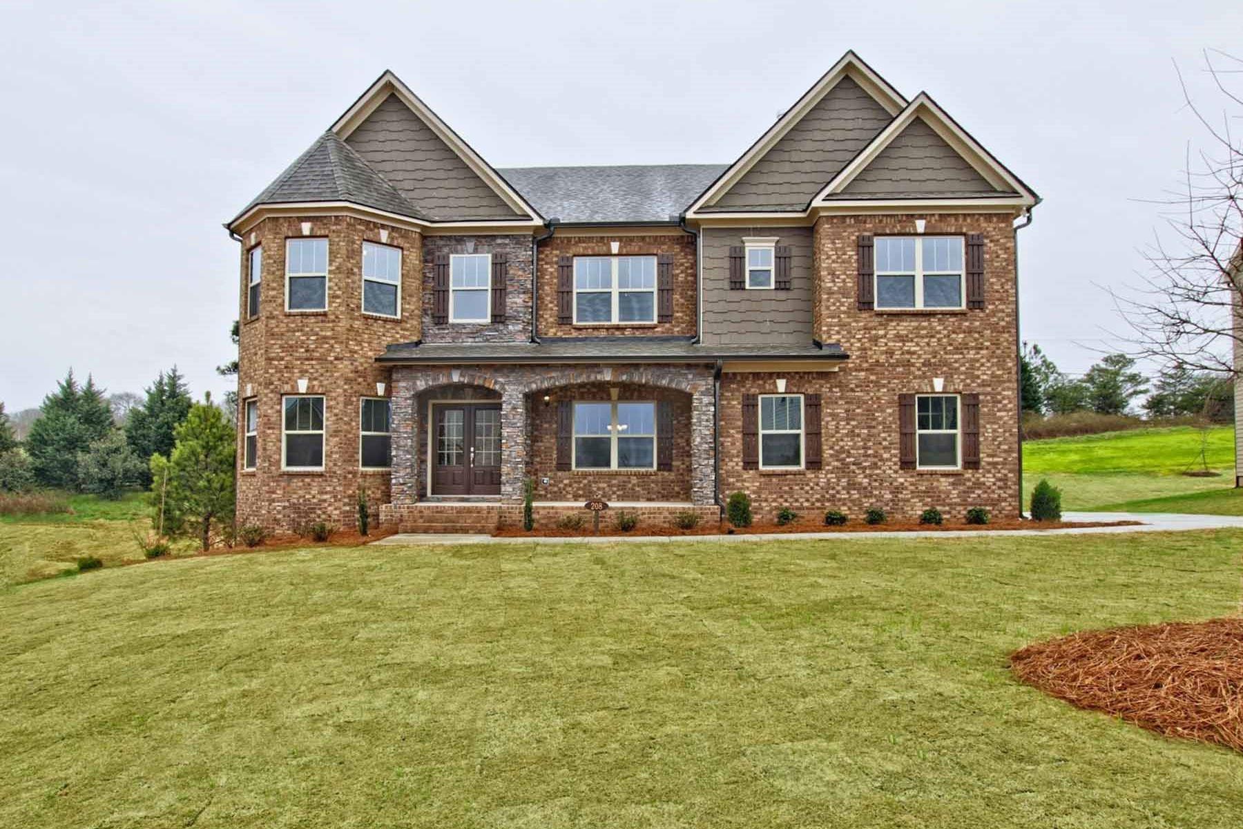 獨棟家庭住宅 為 出售 在 Expansive New Construction With Finished Basement 208 Wilde Oak Ct Canton, 喬治亞州, 30015 美國