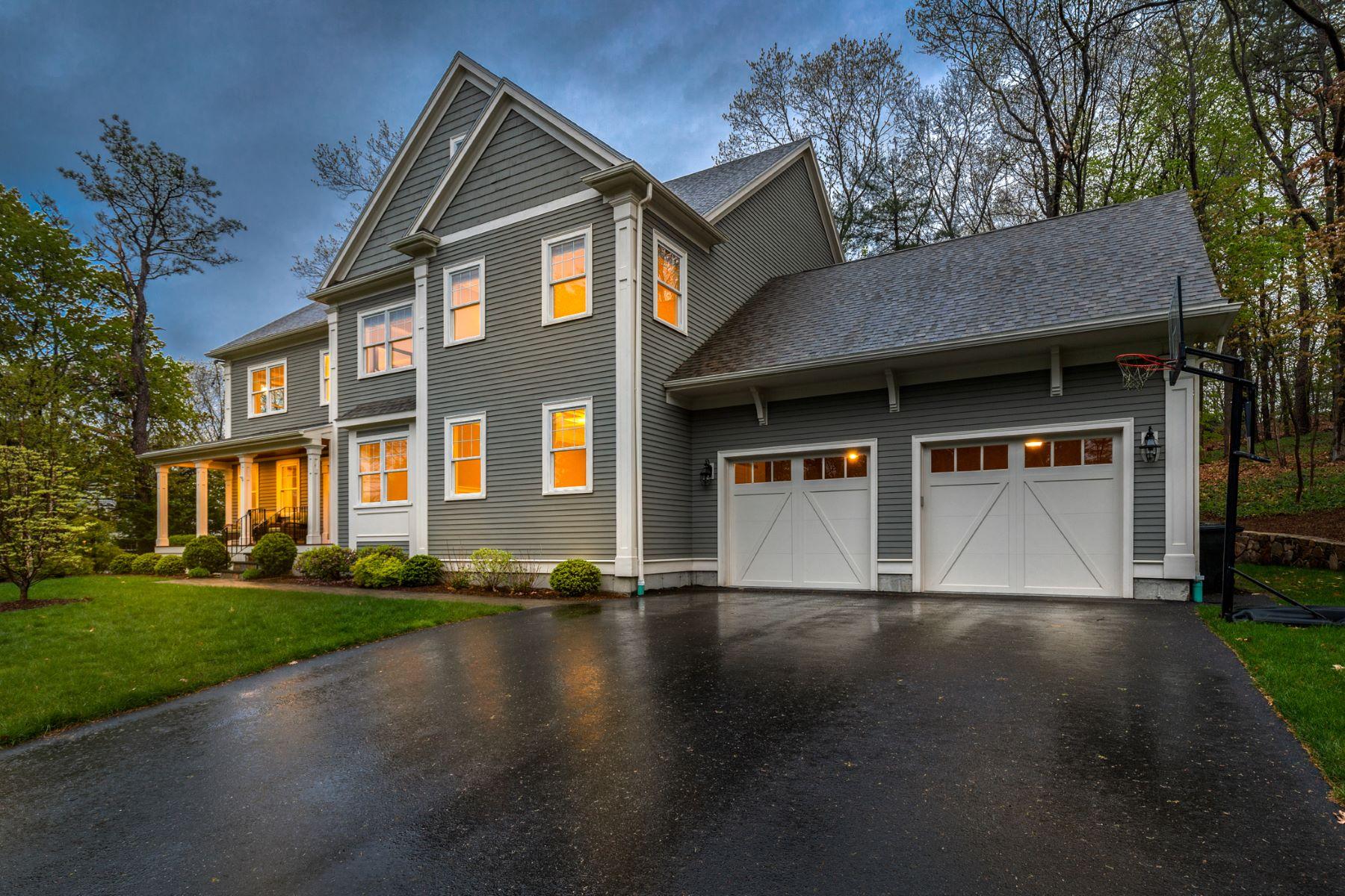 Single Family Home for Active at 6 Flintlock Road, Lexington 6 Flintlock Rd Lexington, Massachusetts 02420 United States
