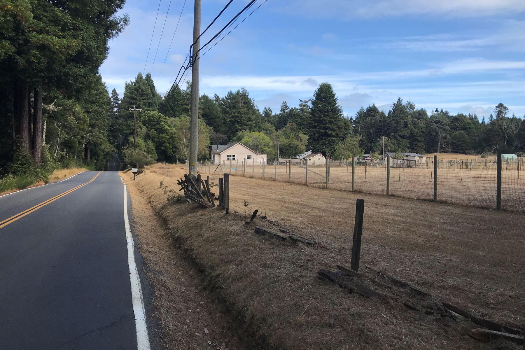 Farm / Ranch / Plantation for Sale at Farmhouse Acreage In Sunbelt 32001 Airport Road Fort Bragg, California 95437 United States