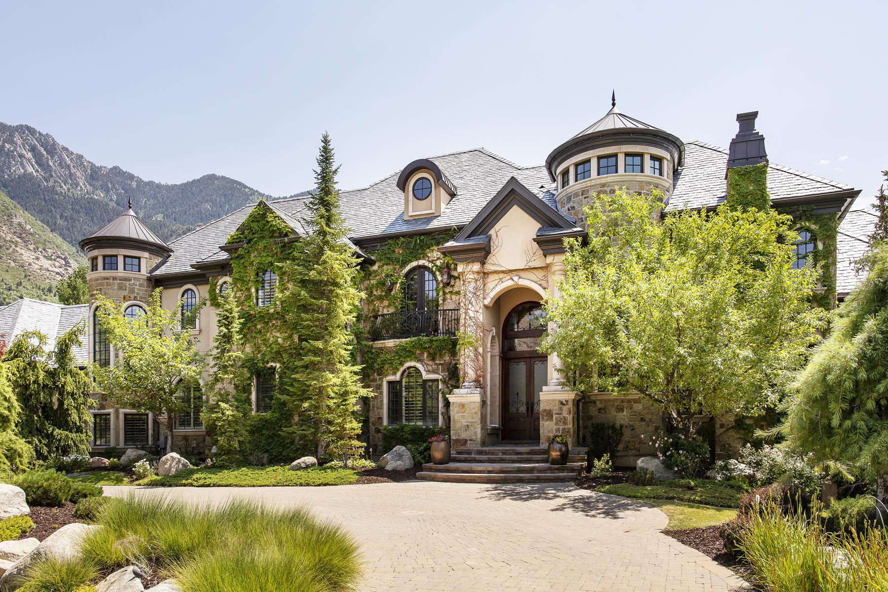 Single Family Homes için Satış at The Crown Jewel of Pepperwood. 2 E Bentbrook Lane, Sandy, Utah 84092 Amerika Birleşik Devletleri