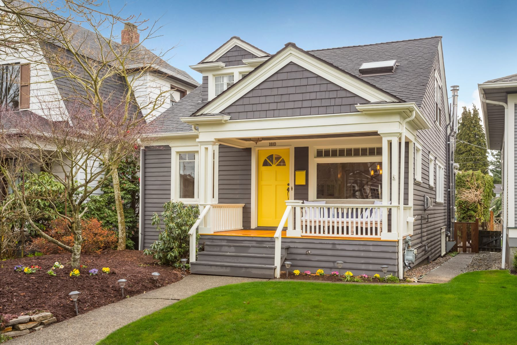 sales property at Quintessential Queen Anne Craftsman Home