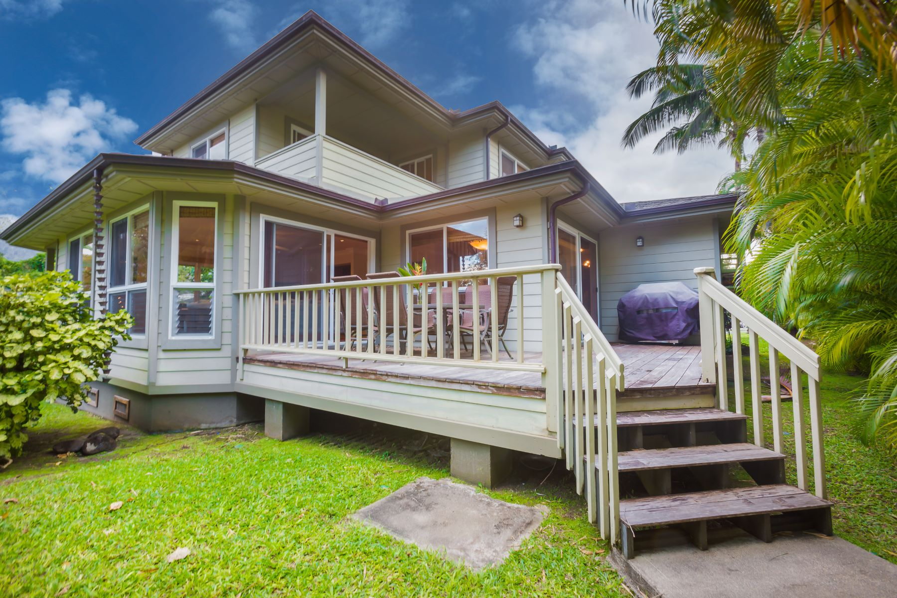 一戸建て のために 売買 アット Beautiful Hanalei Home with Gorgeous Mountain & Waterfall Views 5115 Papio Road, Hanalei, ハワイ, 96714 アメリカ合衆国