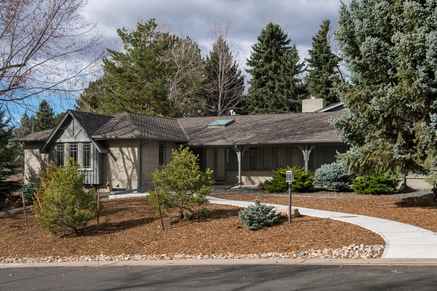 Single Family Home for Active at Mid-Century Modern In Desirable Cherry Hills North 5231 Sanford Cir Englewood, Colorado 80013 United States