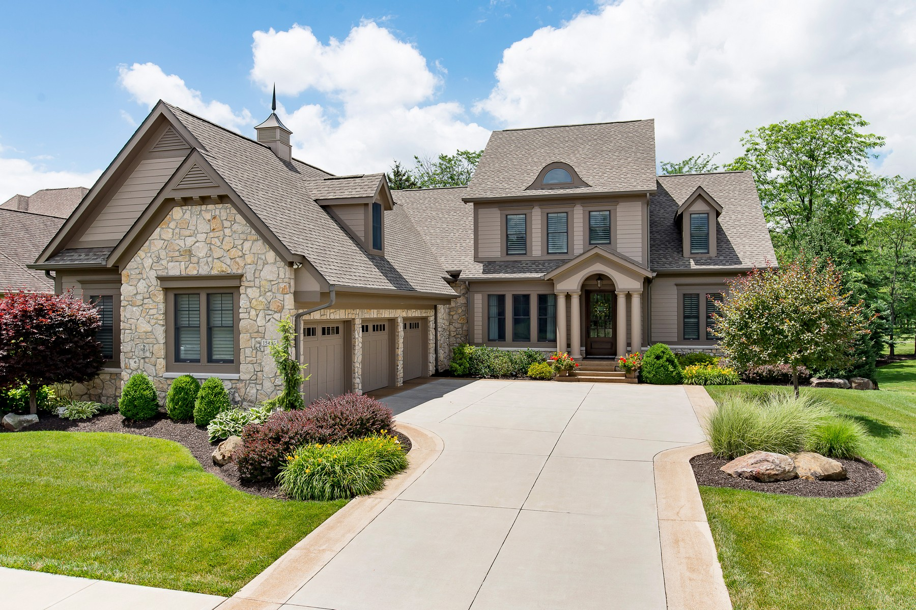 Single Family Home for Sale at Incredible Home on Golf Course 15486 Hidden Oaks Lane Carmel, Indiana, 46033 United States