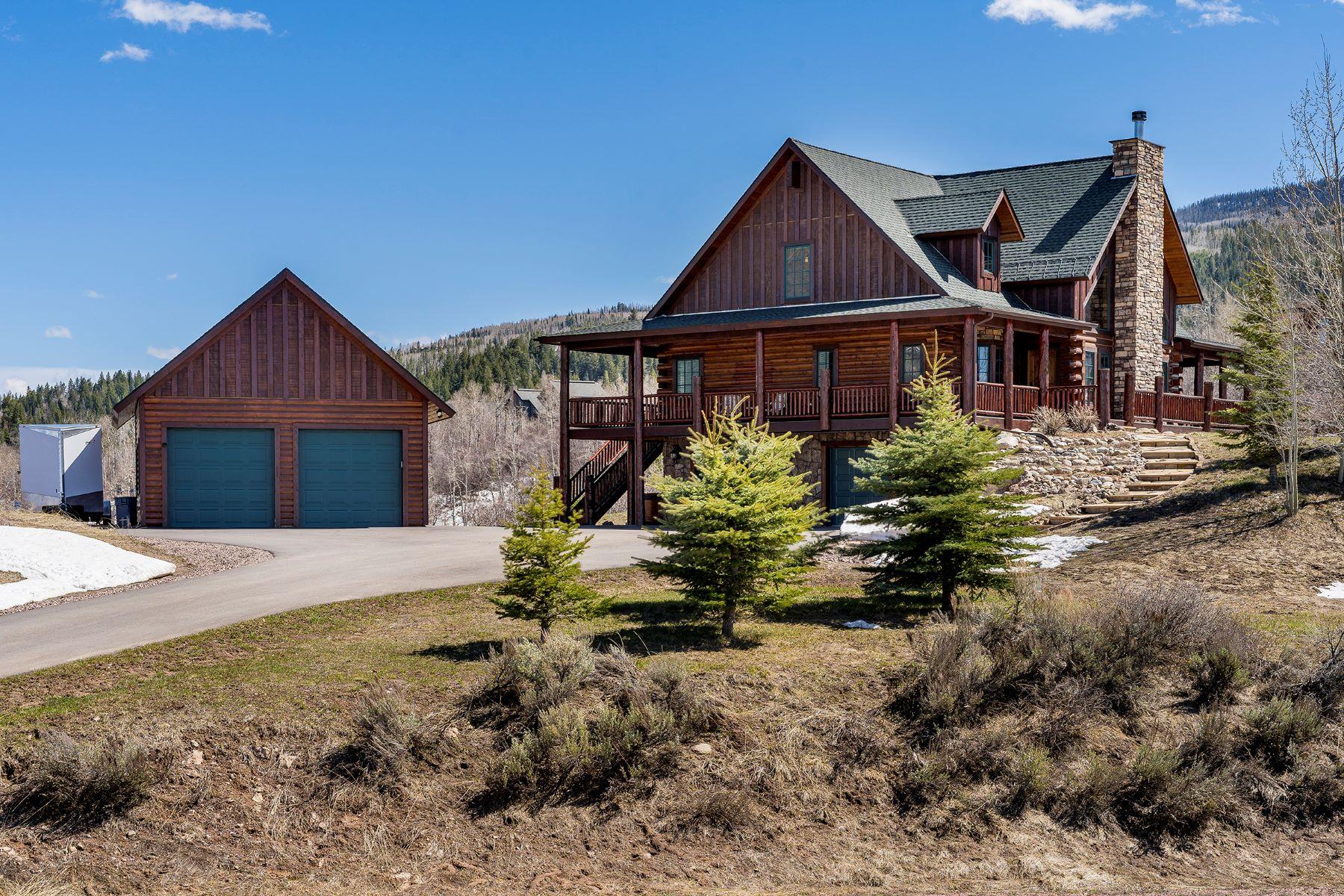 Single Family Homes for Active at Lovely Lynx Basin Home 23095 Lynx Basin Lane Oak Creek, Colorado 80467 United States
