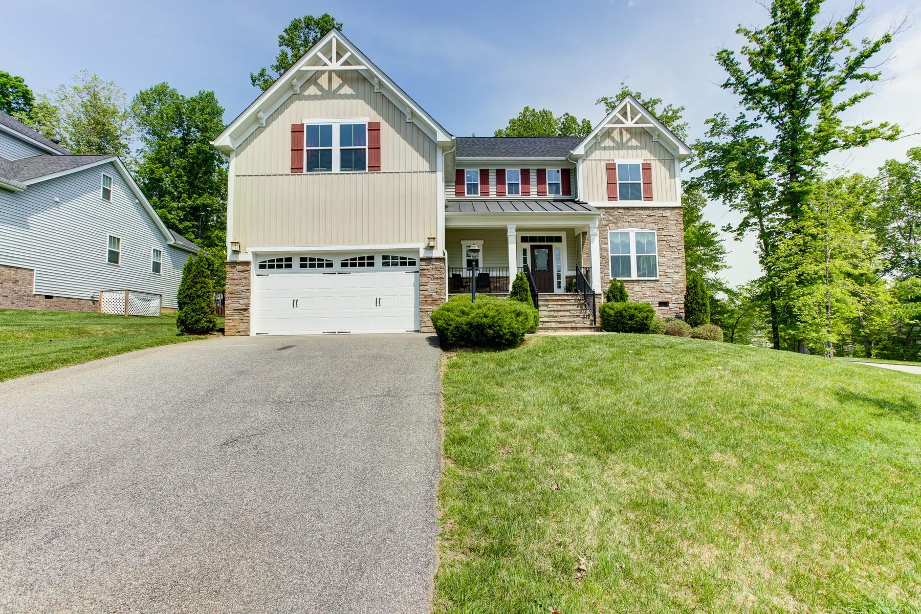 Casa Unifamiliar por un Venta en 15000 Badestowe Drive Chesterfield, Virginia 23832 Estados Unidos