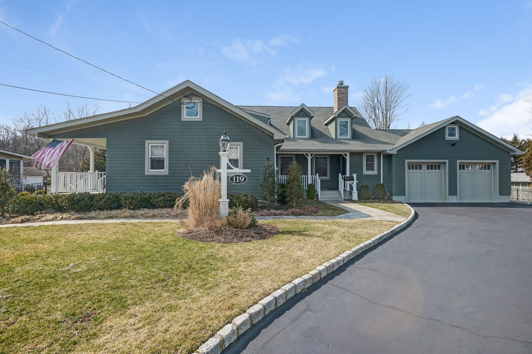 Single Family Homes for Sale at Turn Key Custom Home 119 Crescent Road Florham Park, New Jersey 07932 United States
