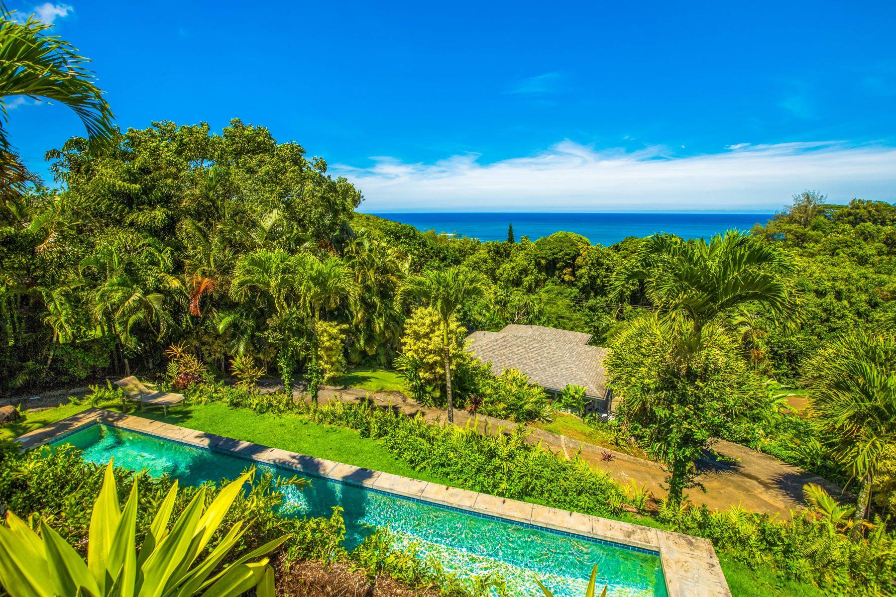 Single Family Homes för Försäljning vid 3293 Kalihiwai Rd. 3239 Kalihiwai Road, Kilauea, Hawaii 96754 Förenta staterna